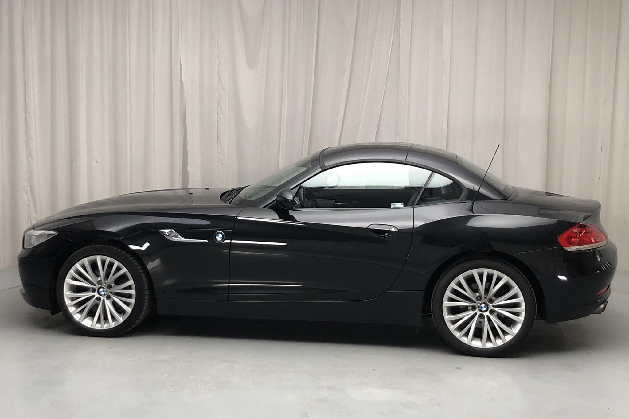 BMW Z4 sDrive 18i Roadster, E89 (156hk) - 6 297 mil - Manuell - svart - 2013