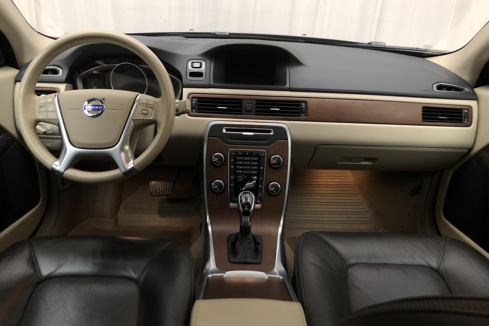 Volvo XC70 II D4 AWD (163hk) - 124 330 km - Automatic - brown - 2014