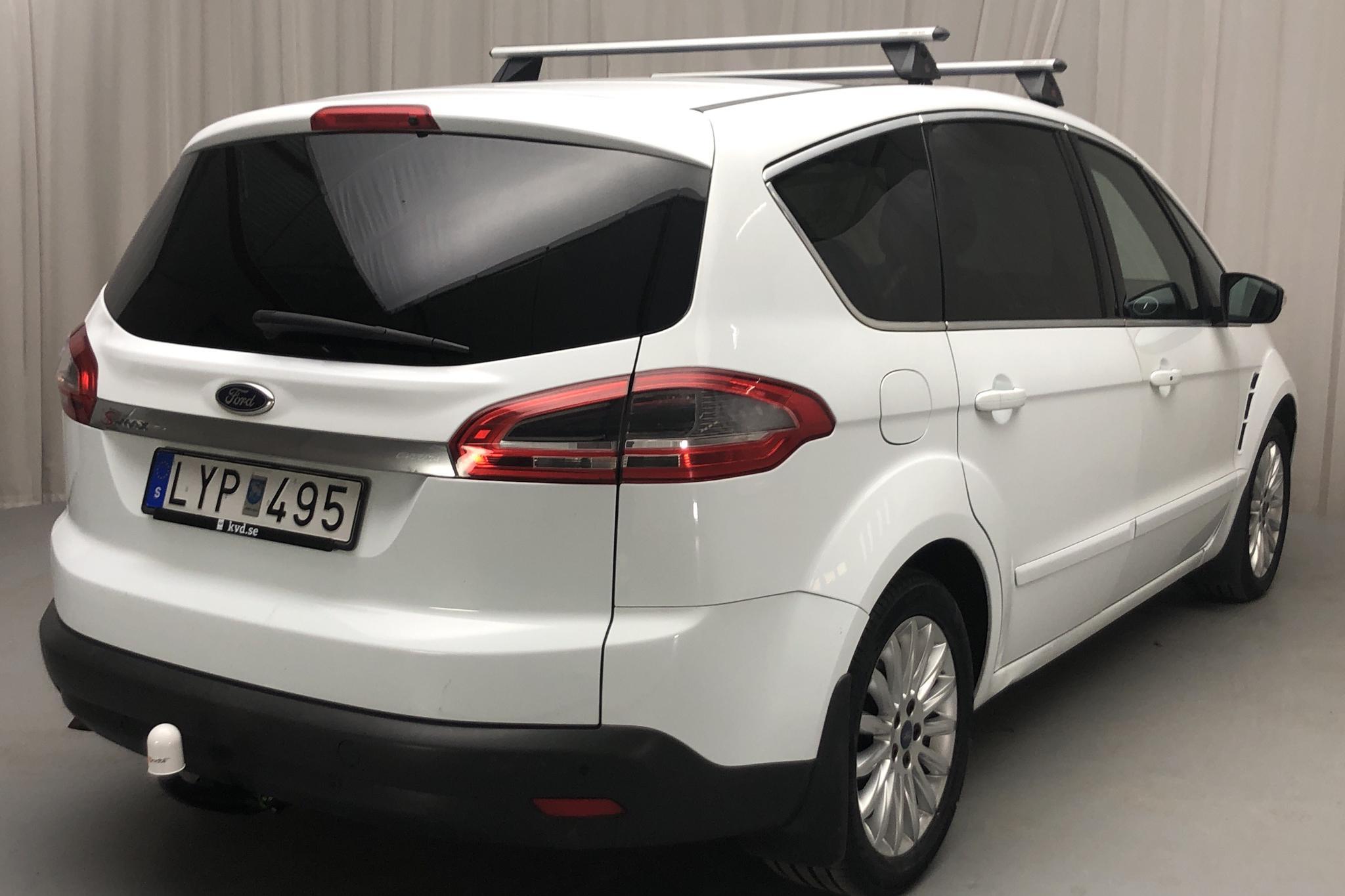 Ford S-MAX 2.0 Duratorq TDCi (163hk) - 19 315 mil - Manuell - vit - 2012