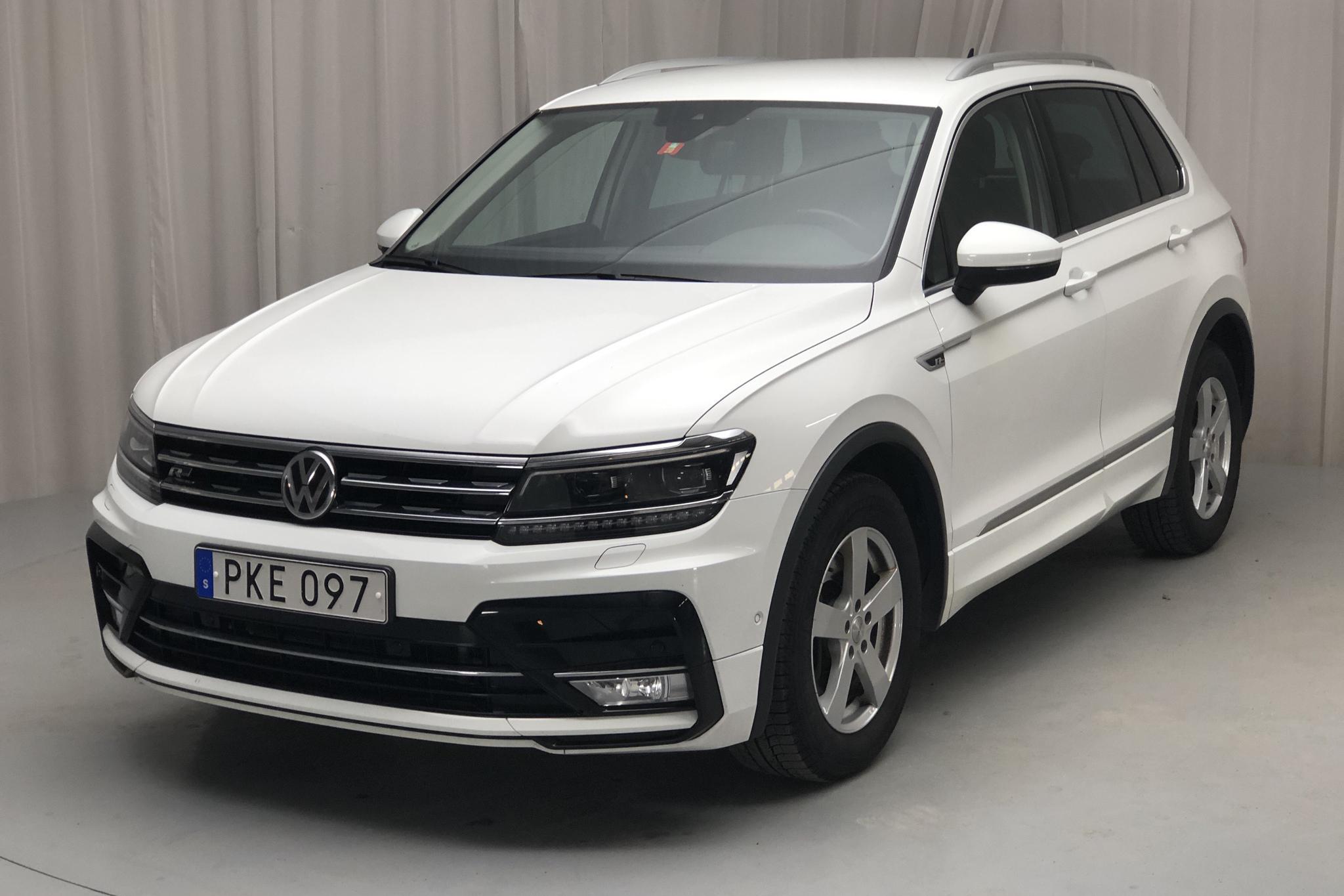 VW Tiguan 2.0 TDI 4MOTION (190hk) - 100 470 km - Automatic - white - 2017