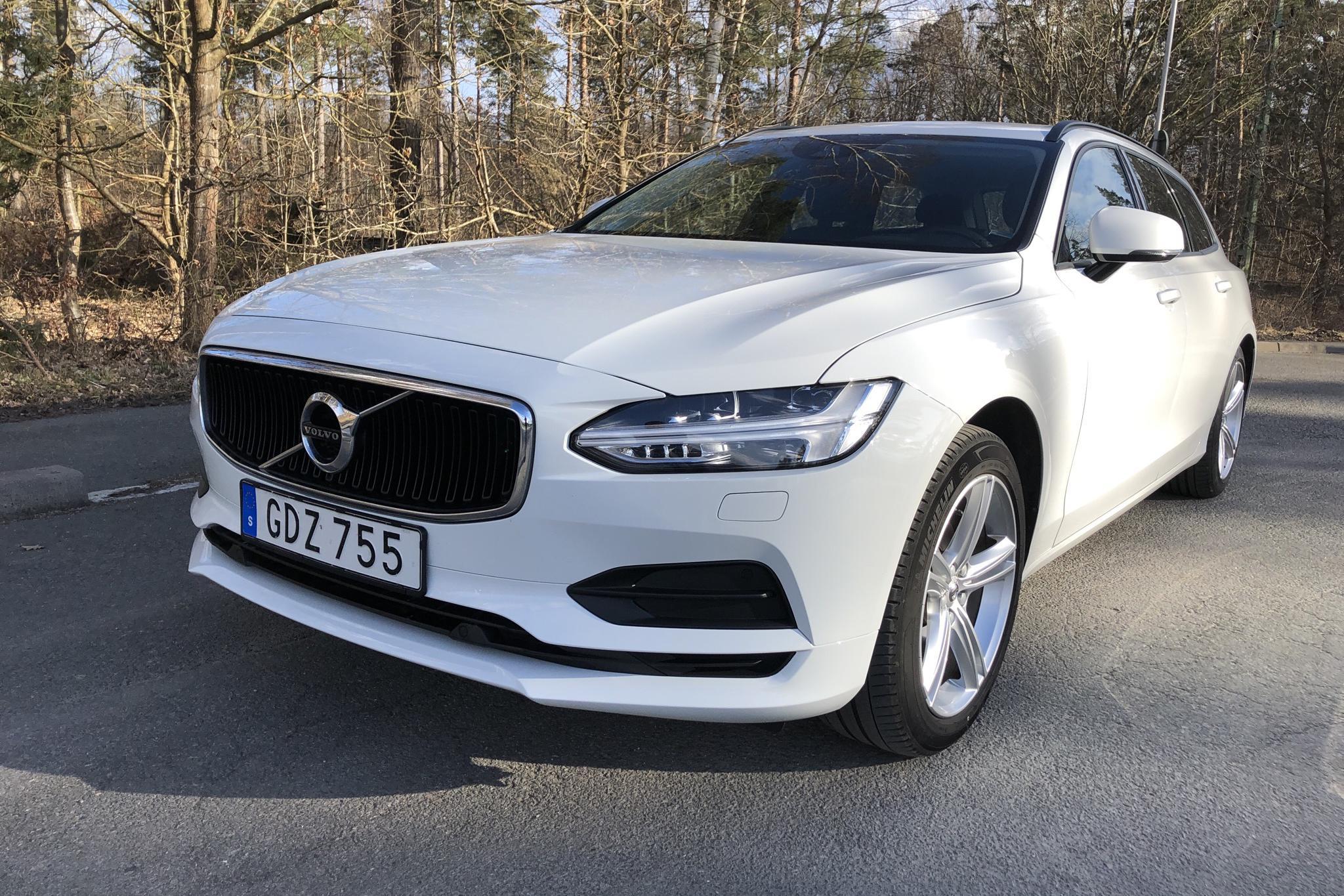 Volvo V90 D3 (150hk) - 95 010 km - Automatic - white - 2018