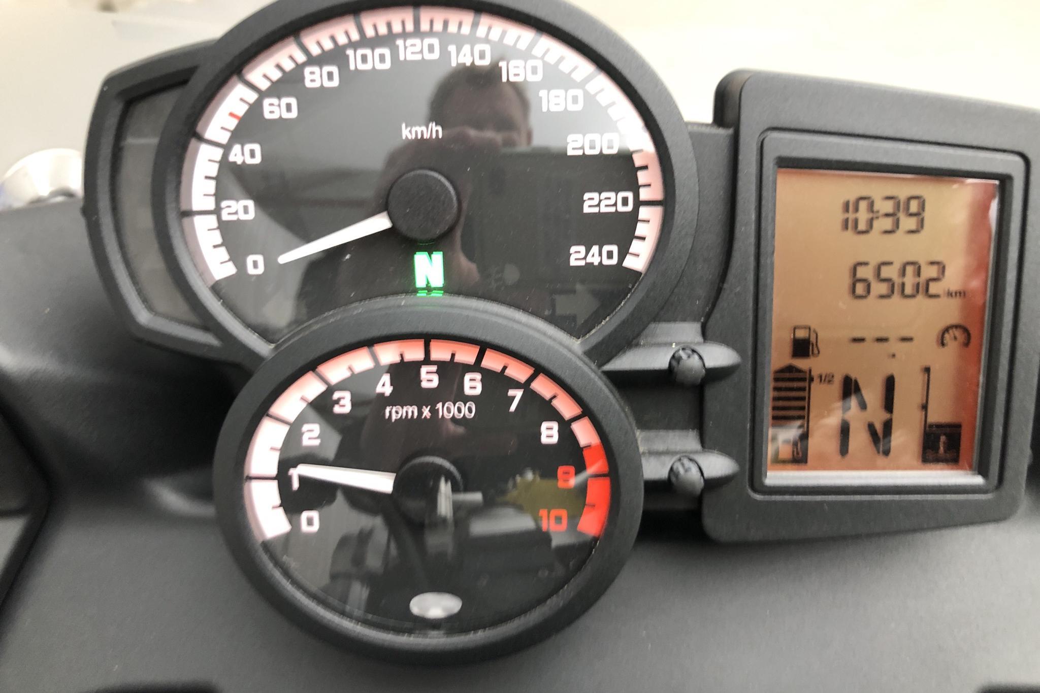BMW F 800 GT Motorcykel - 650 mil - Manuell - Dark Grey - 2014