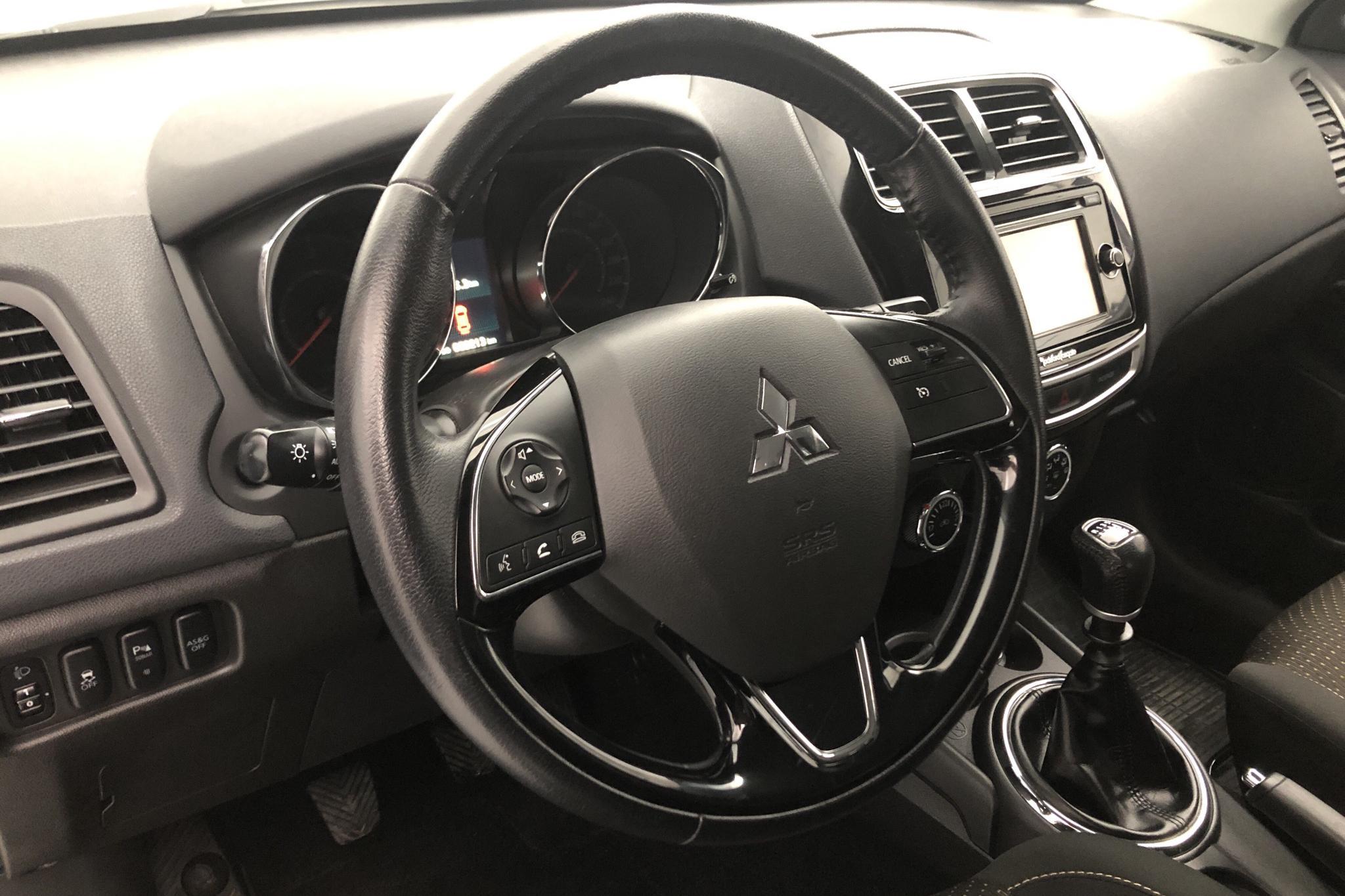 Mitsubishi ASX 1.6D 2WD (114hk) - 69 210 km - Manual - white - 2016