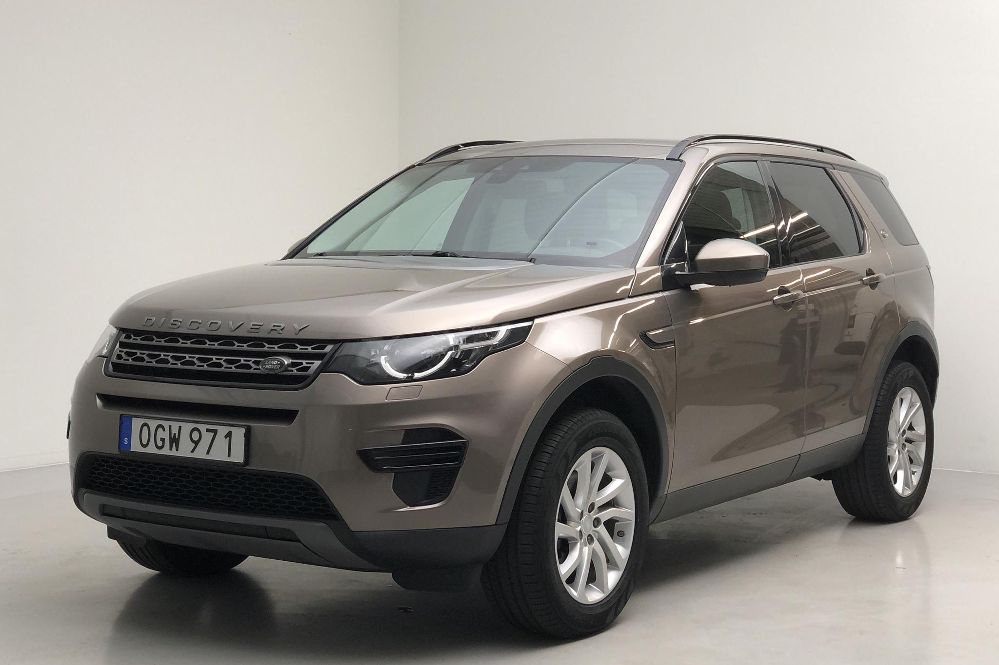 Land Rover Discovery Sport 2.0 TD4 AWD (180hk) - 93 030 km - Automatic - gray - 2017
