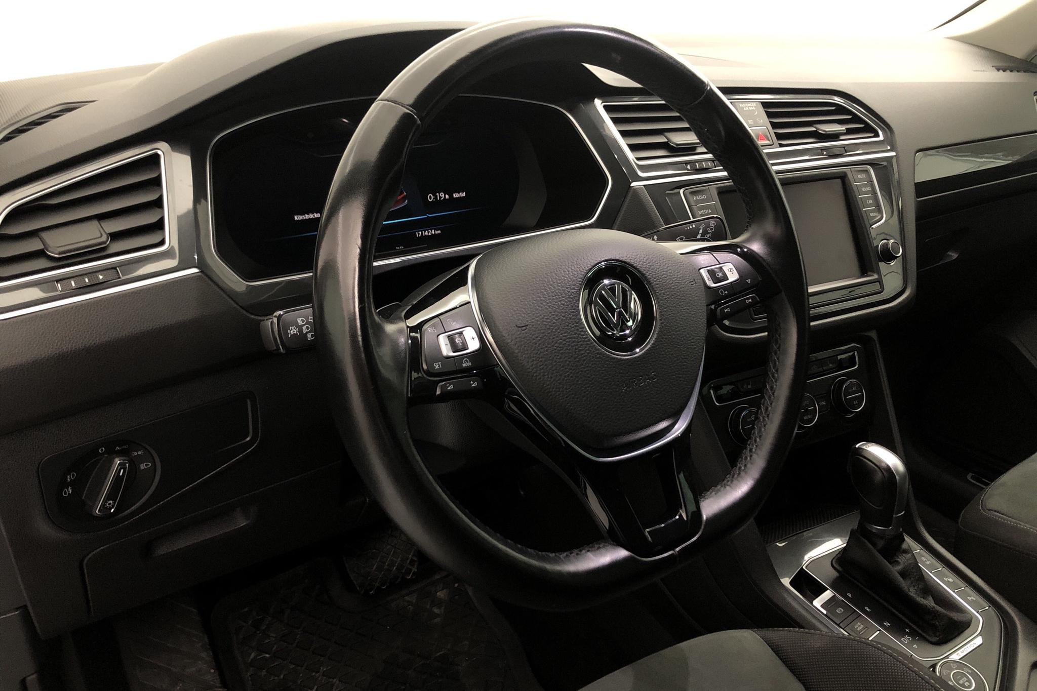 VW Tiguan 2.0 TDI 4MOTION (190hk) - 171 420 km - Automatic - white - 2017