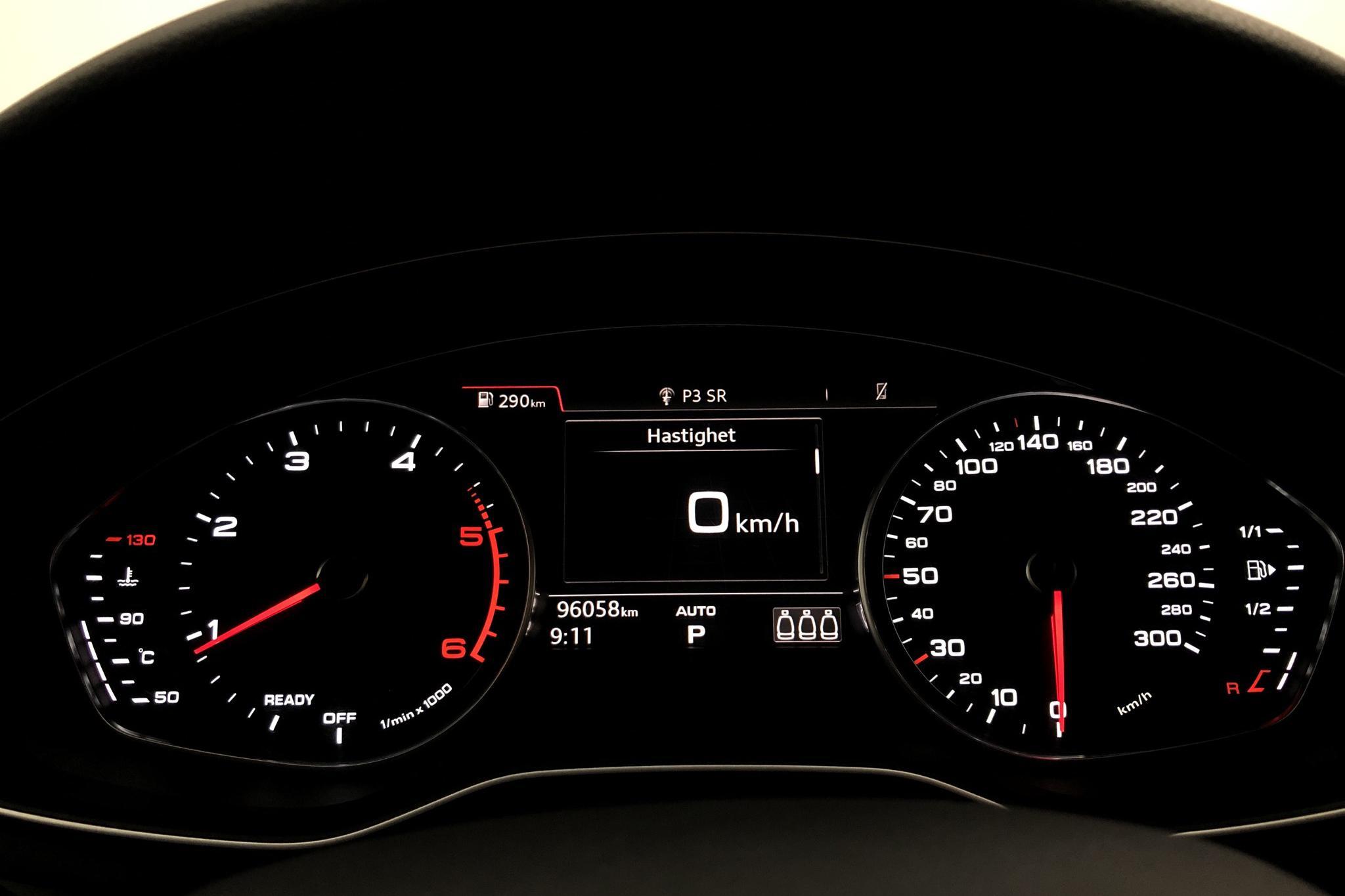 Audi A4 2.0 TDI Avant quattro (190hk) - 9 604 mil - Automat - vit - 2018