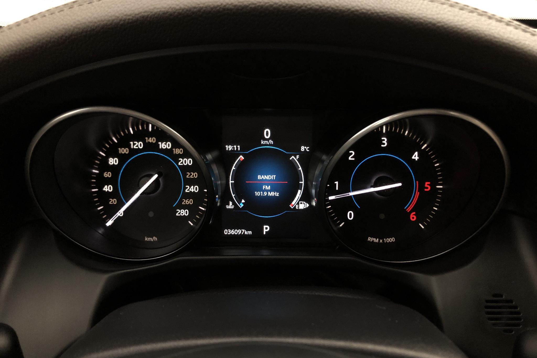 Jaguar XF 2.0D i4 Turbocharged AWD (240hk) - 3 609 mil - Automat - grå - 2018