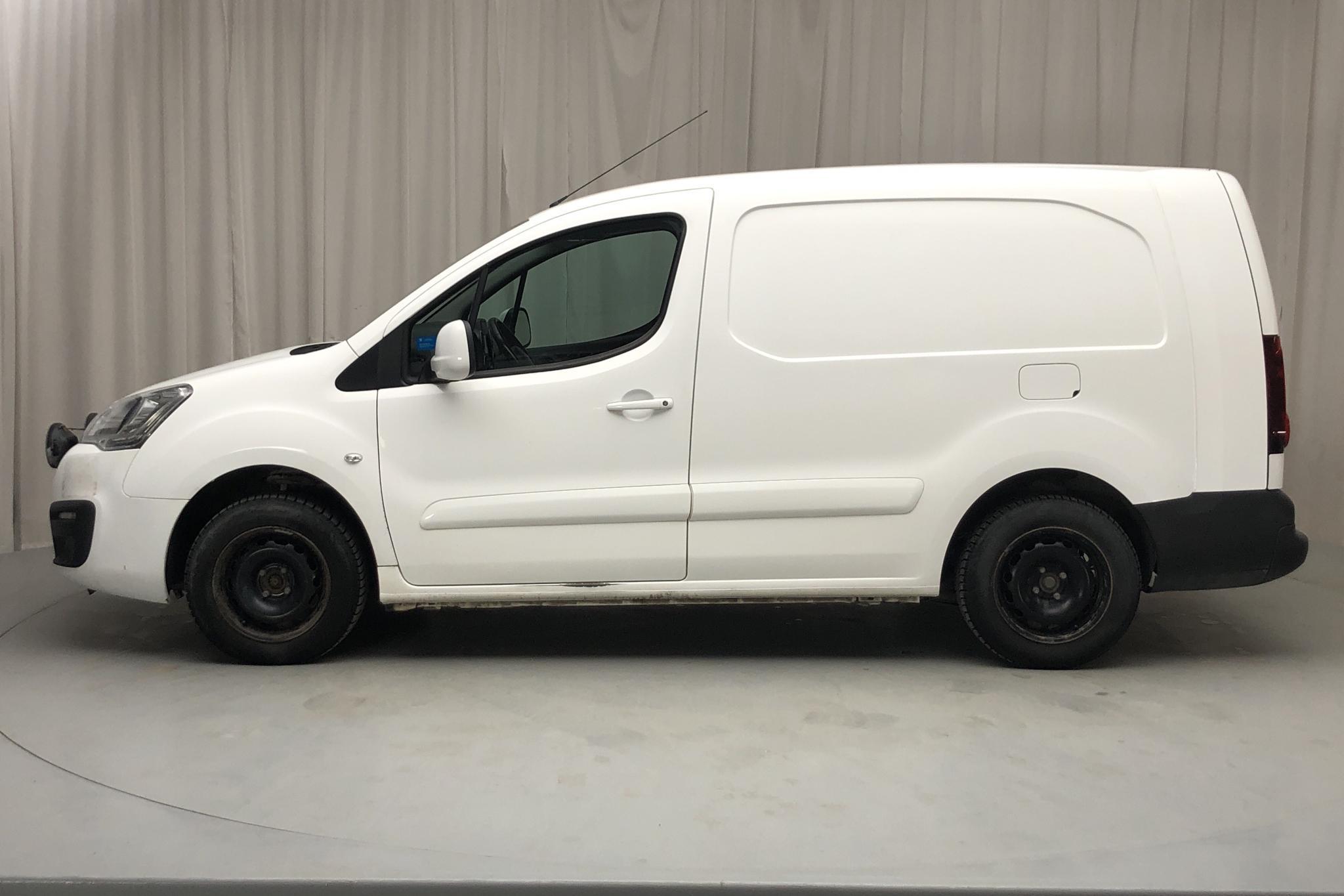 Peugeot Partner 1.6 BlueHDI Skåp (100hk) - 11 980 mil - Manuell - vit - 2017