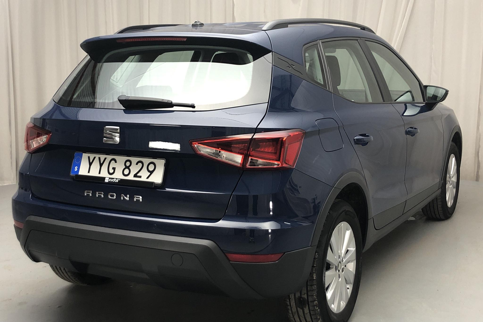 Seat Arona 1.0 TSI 5dr (95hk) - 25 500 km - Manual - blue - 2018