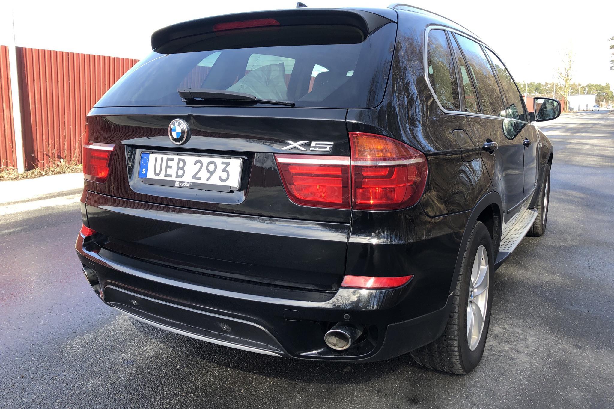 BMW X5 xDrive40d, E70 (306hk) - 256 260 km - Automatic - black - 2011