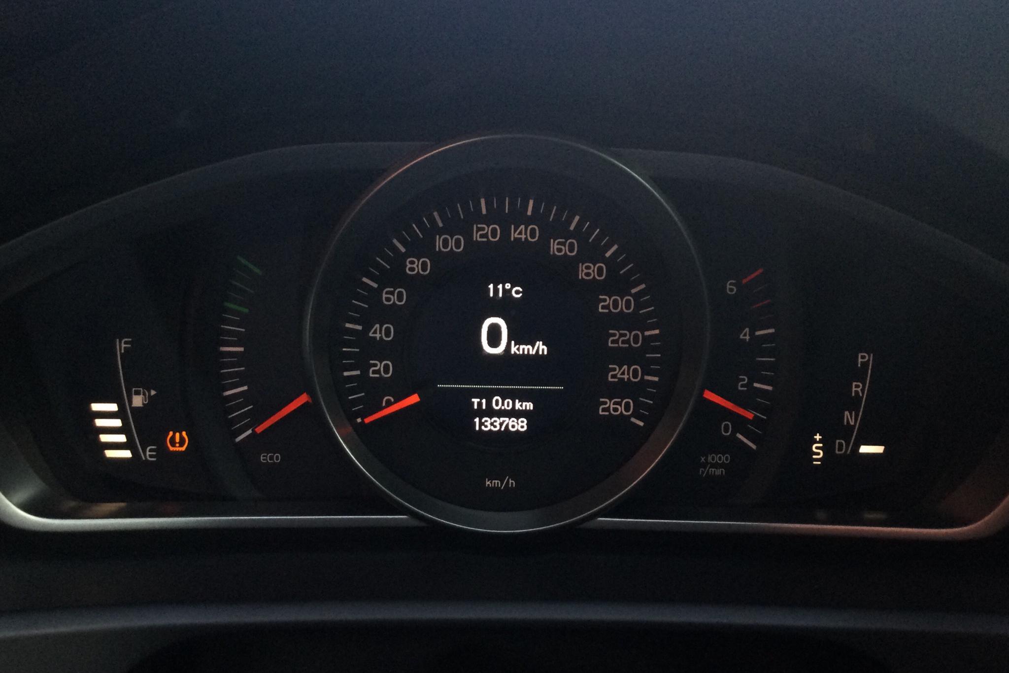 Volvo V40 D2 (115hk) - 13 376 mil - Automat - blå - 2015