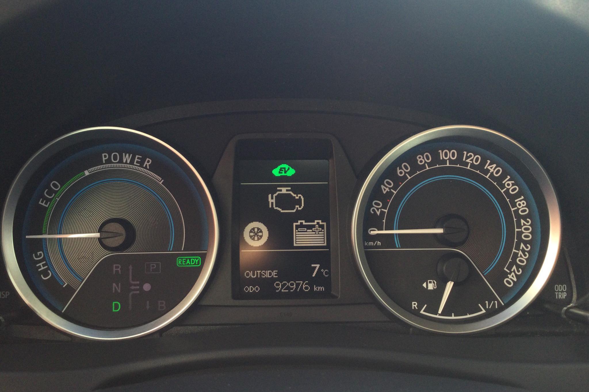Toyota Auris 1.8 HSD Touring Sports (99hk) - 9 297 mil - Automat - vit - 2015