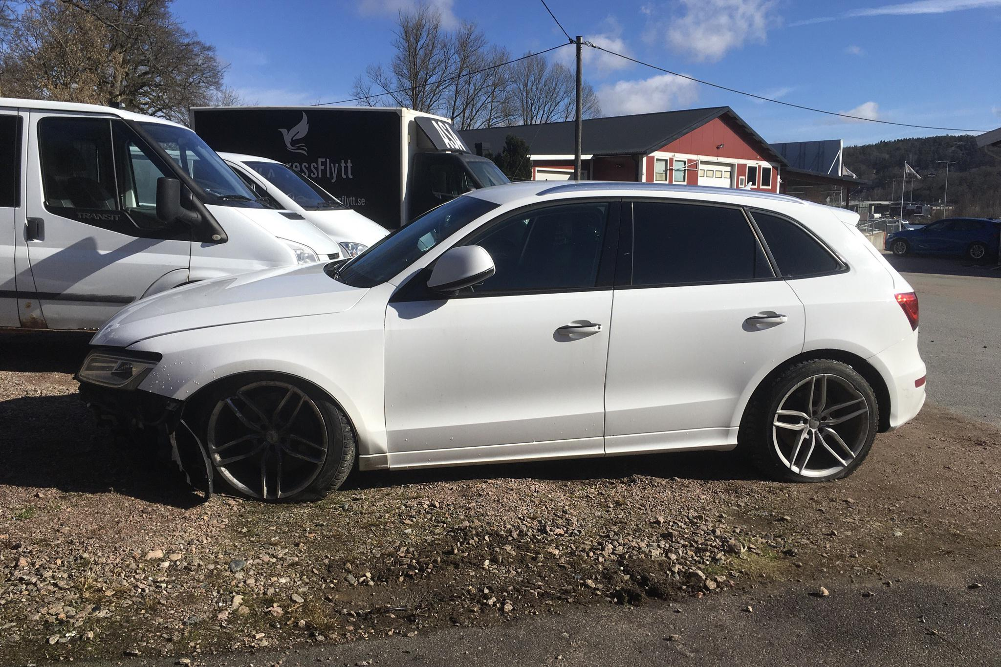 Audi SQ5 3.0 TDI quattro (313hk) - 129 000 km - Automatic - white - 2015