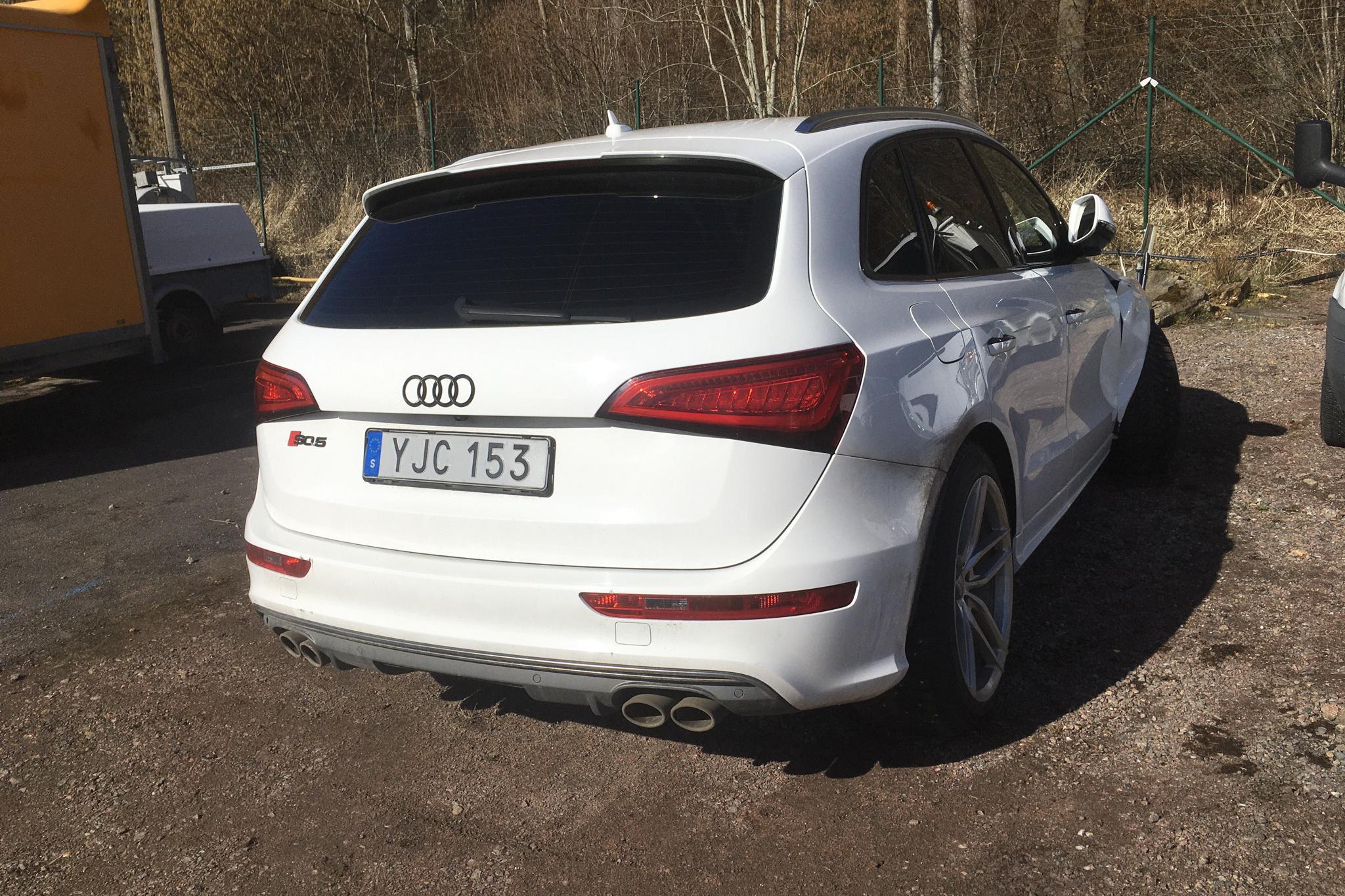 Audi SQ5 3.0 TDI quattro (313hk) - 12 900 mil - Automat - vit - 2015