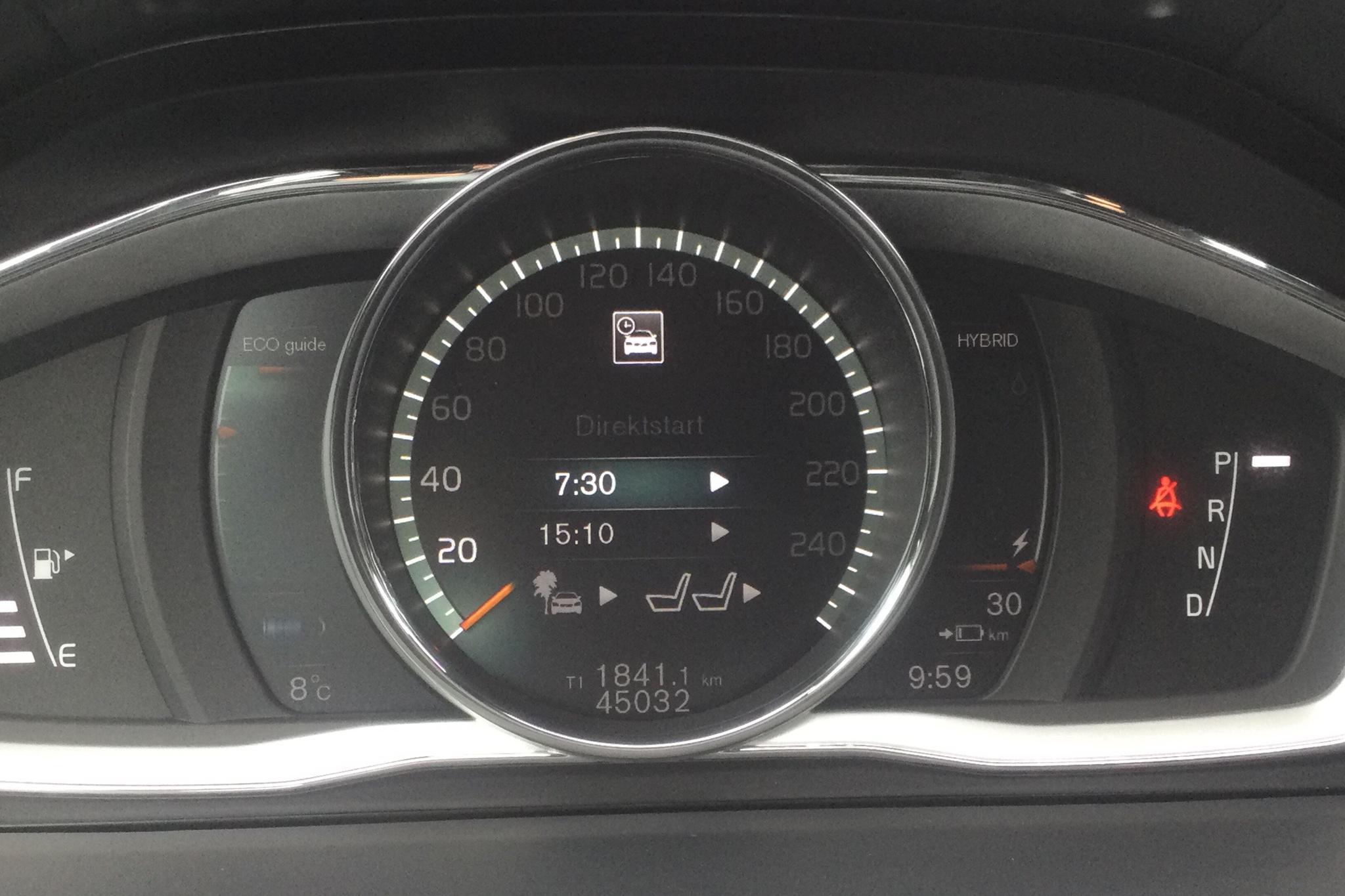 Volvo V60 D5 AWD Twin Engine (163hk) - 4 503 mil - Automat - vit - 2018