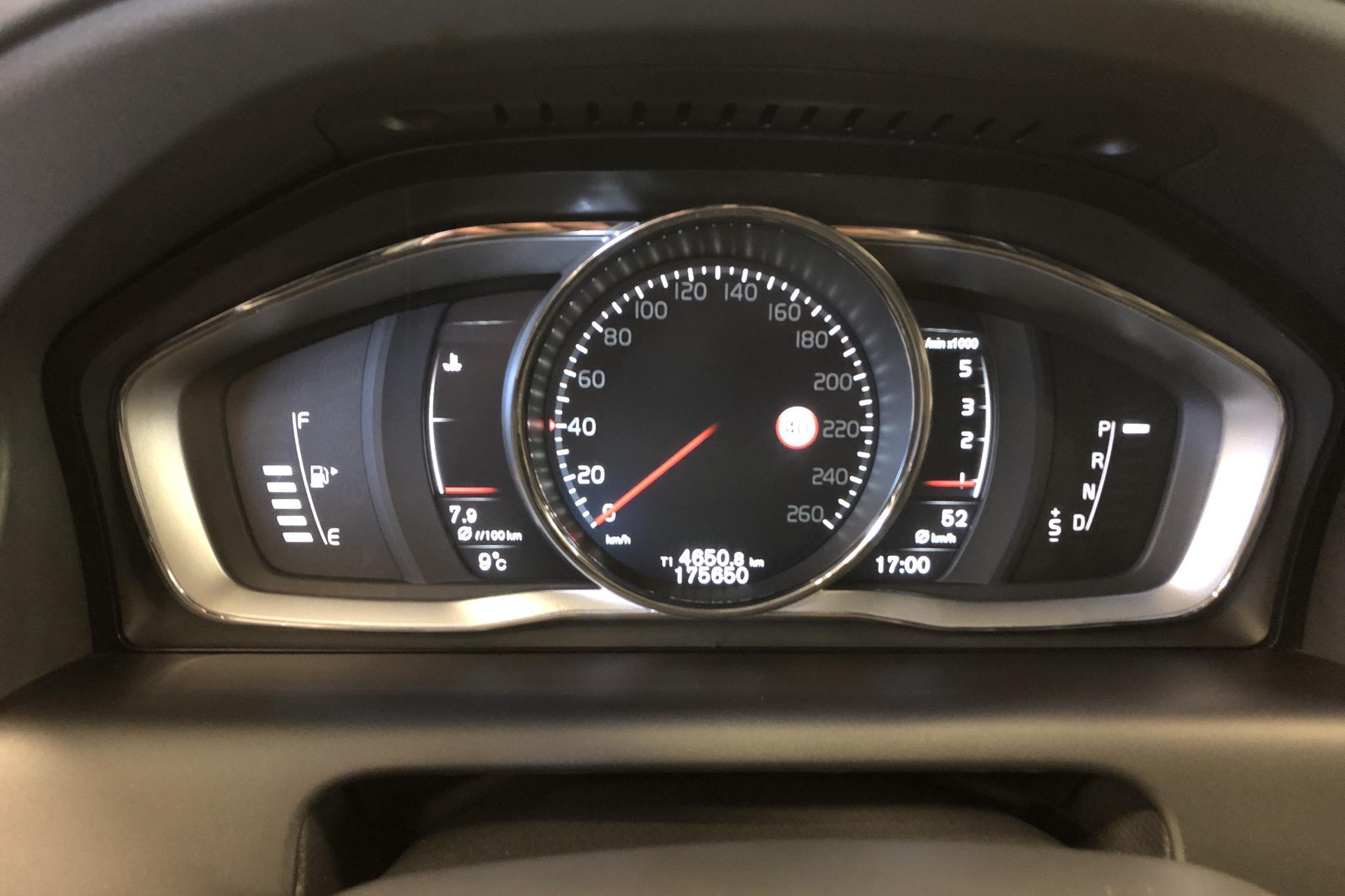 Volvo XC60 D4 AWD (190hk) - 175 650 km - Automatic - silver - 2017