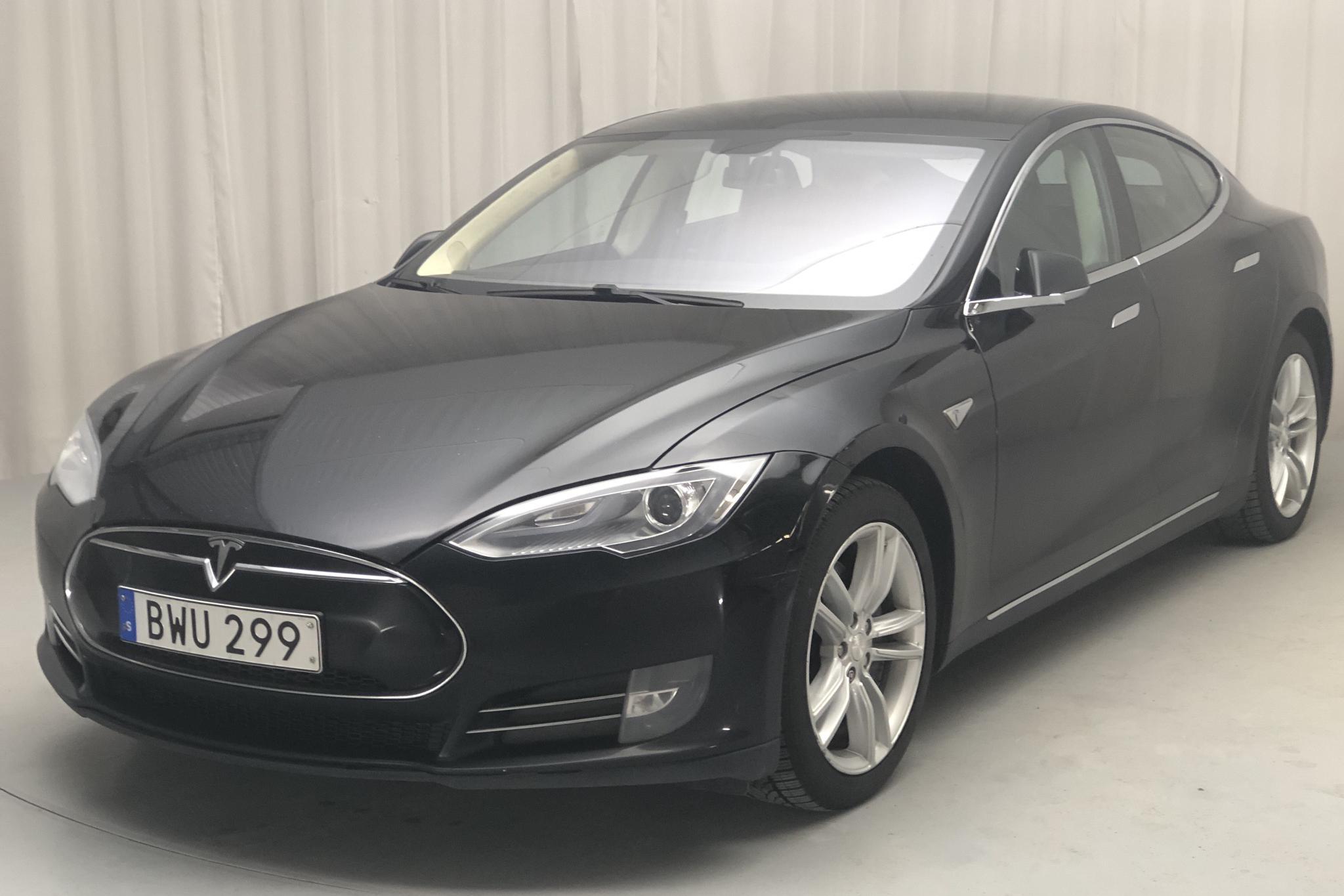 Tesla Model S 85 (382hk) - 36 517 mil - Automat - svart - 2014