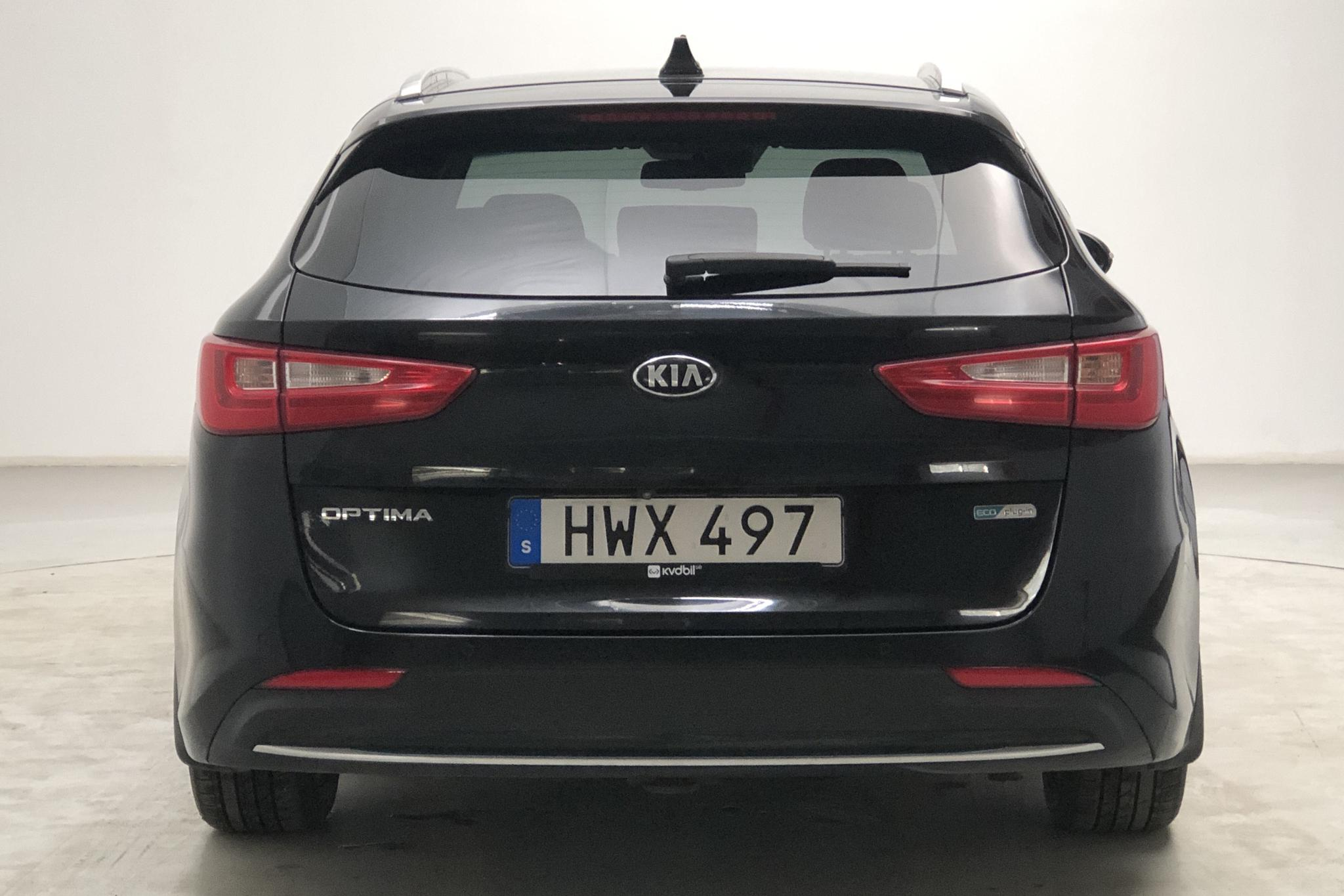 KIA Optima 2.0 GDi Plug-in Hybrid SW (205hk) - 164 500 km - Automatic - black - 2018