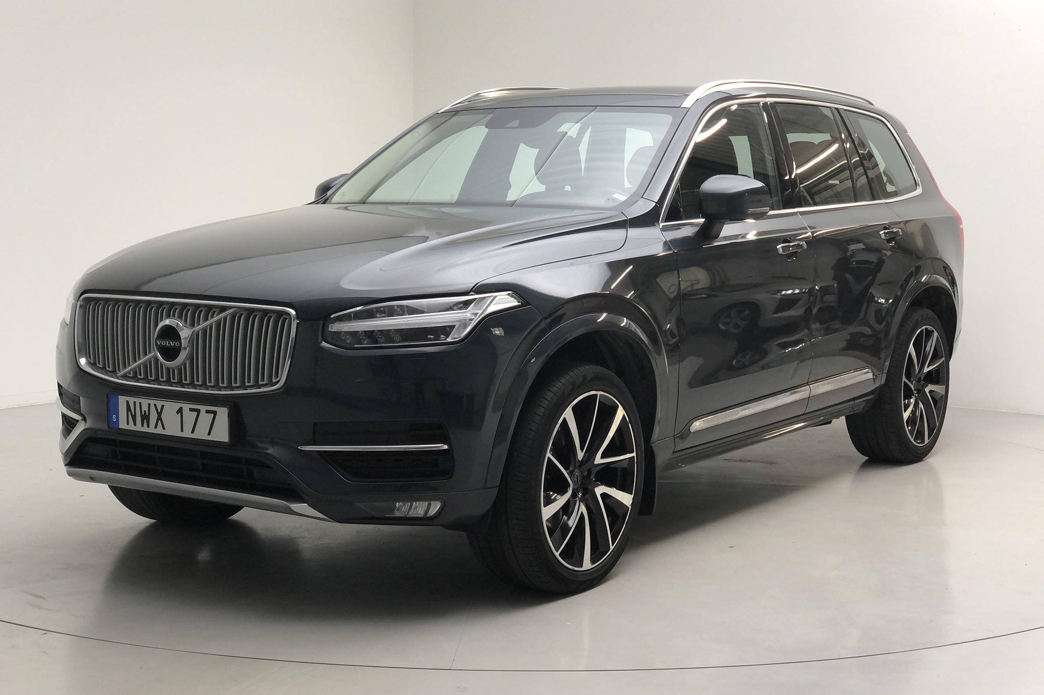 Volvo XC90 D4 AWD (190hk) - 8 722 mil - Automat - grå - 2018