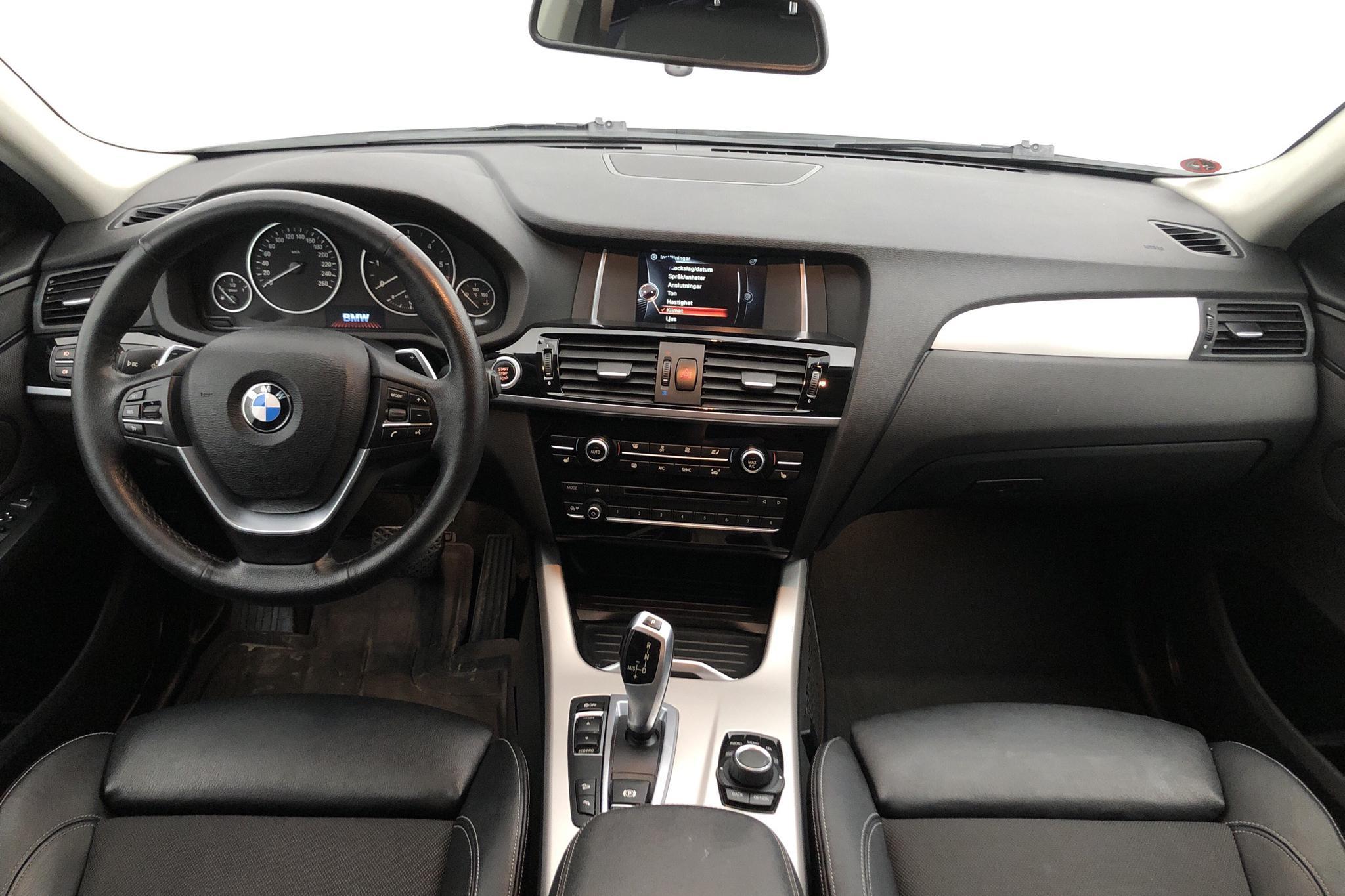 BMW X4 xDrive 20d, F26 (190hk) - 129 850 km - Automatic - white - 2016