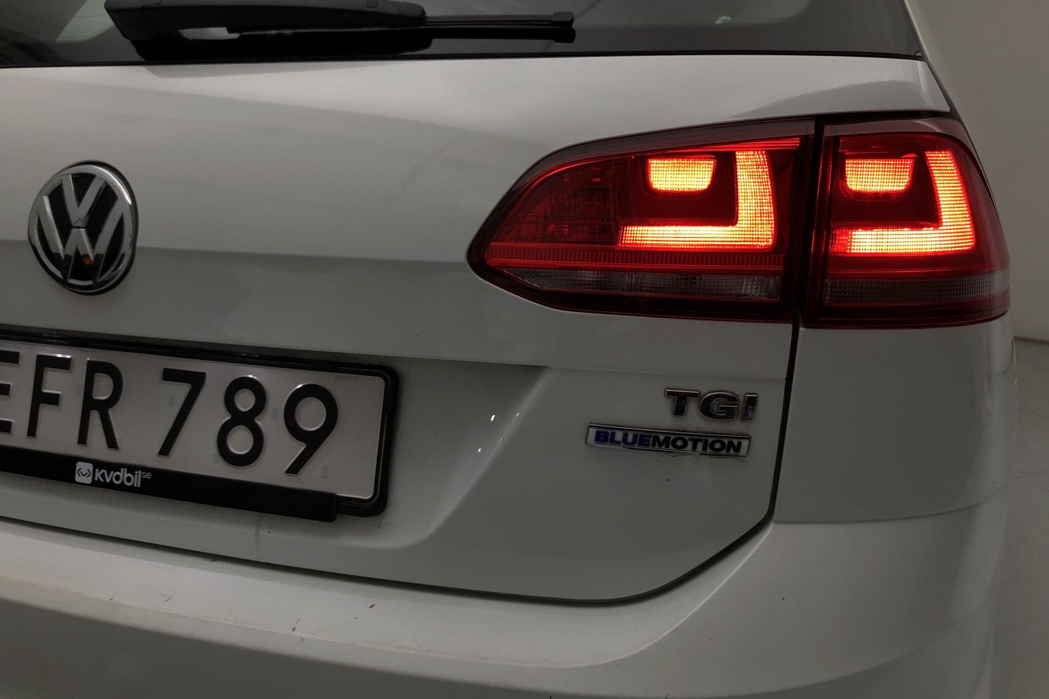 VW Golf VII 1.4 TGI BlueMotion Sportscombi (110hk) - 94 430 km - Manual - white - 2015