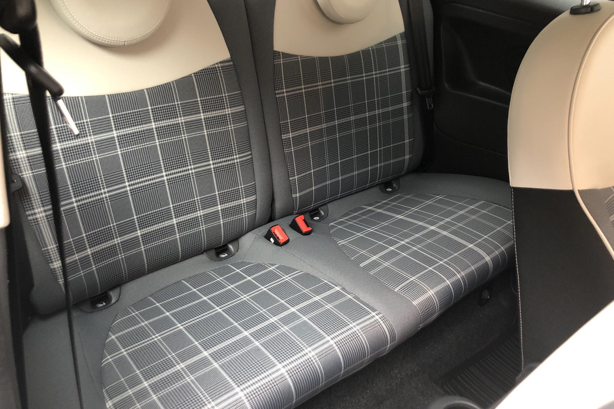 Fiat 500C 1.2 (69hk) - 2 166 mil - Manuell - blå - 2017