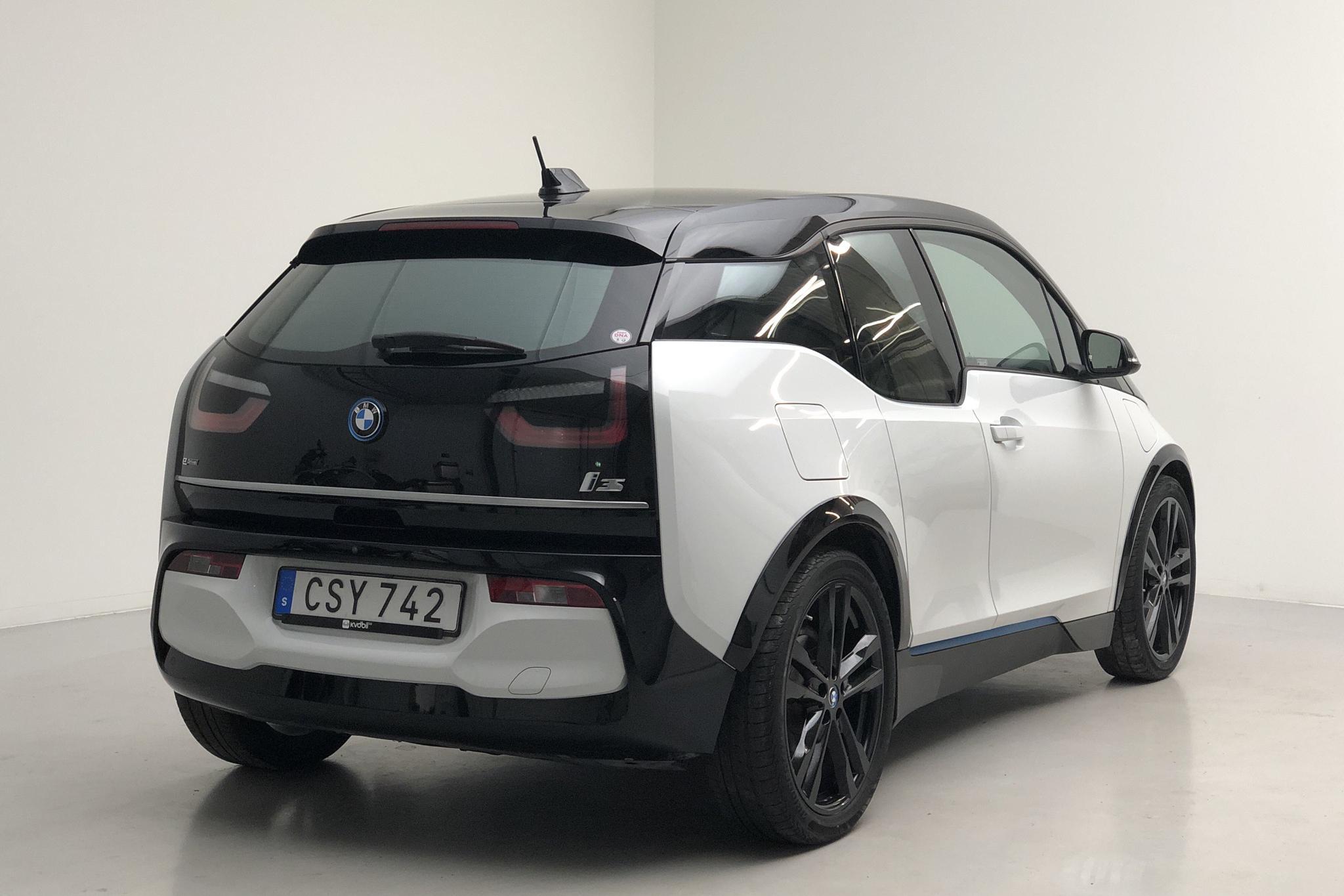 BMW i3s REX 94Ah, I01 (184hk) - 3 577 mil - Automat - vit - 2018