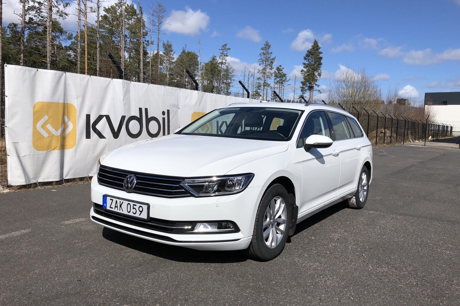 VW Passat 1.4 TSI Sportscombi (150hk) - 43 580 km - Manual - white - 2018