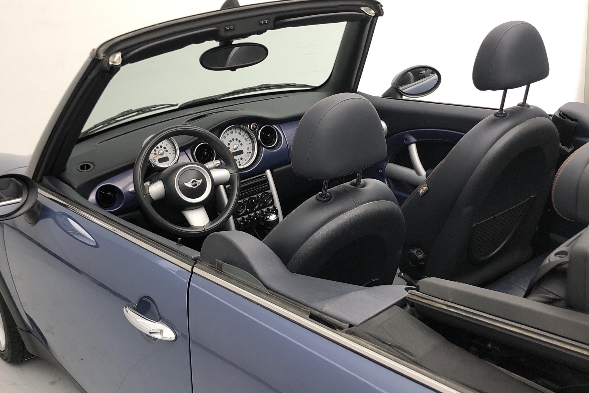 MINI Cooper 1.6 Cabriolet (115hk) - 3 232 mil - Manuell - blå - 2004