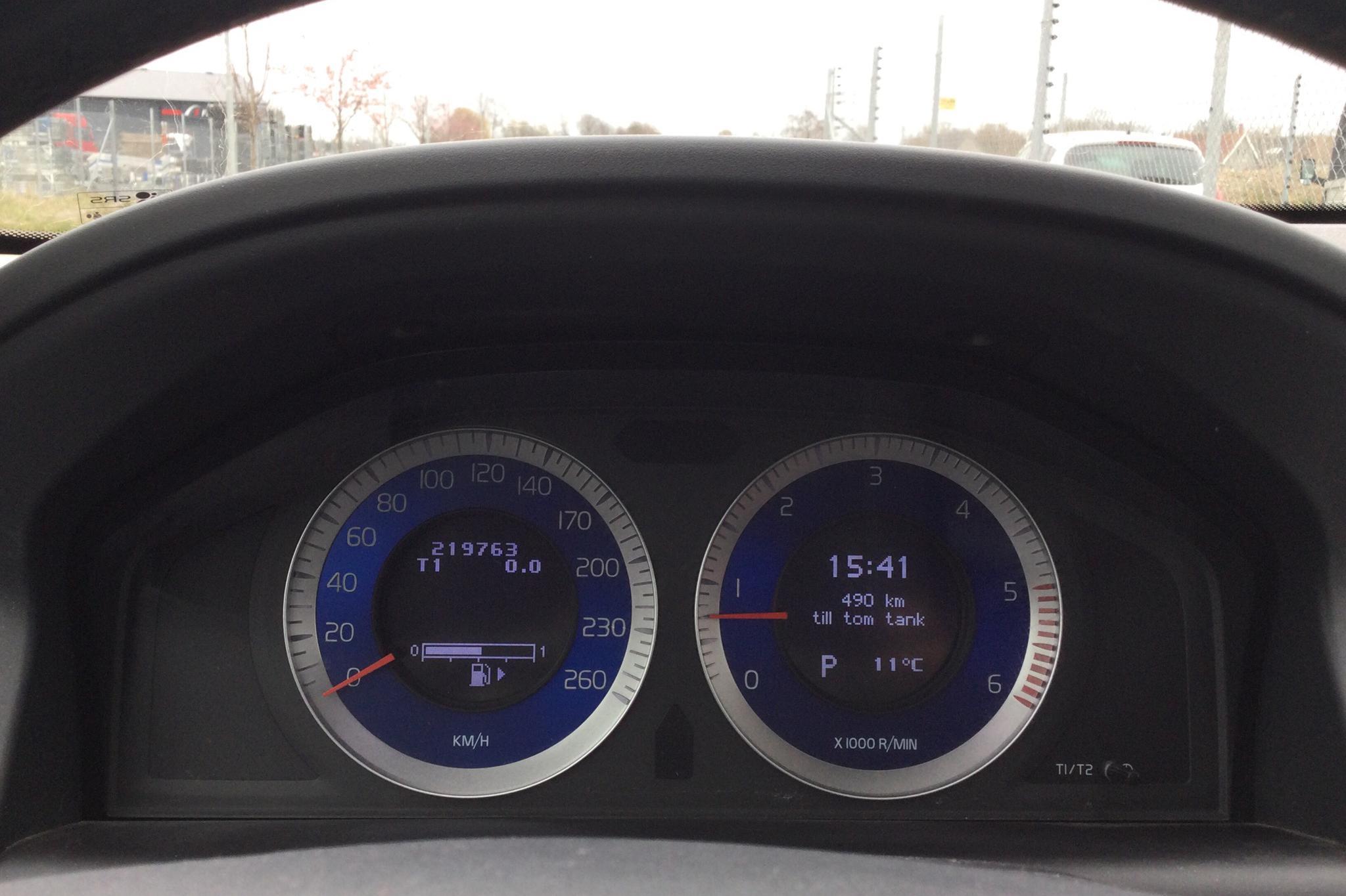 Volvo XC60 D5 AWD (205hk) - 219 770 km - Automatic - white - 2011