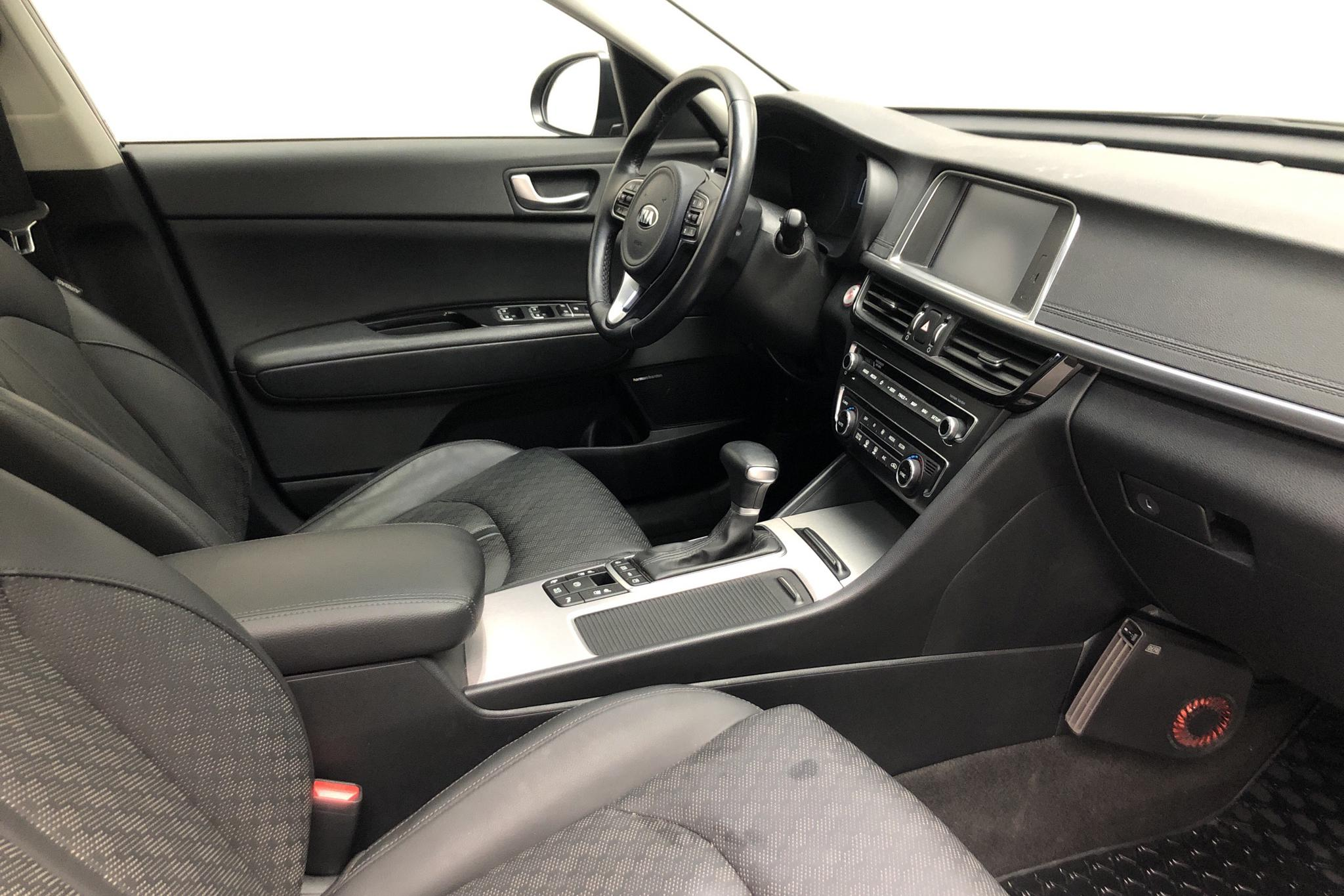 KIA Optima 2.0 GDi Plug-in Hybrid SW (205hk) - 42 710 km - Automatic - gray - 2018