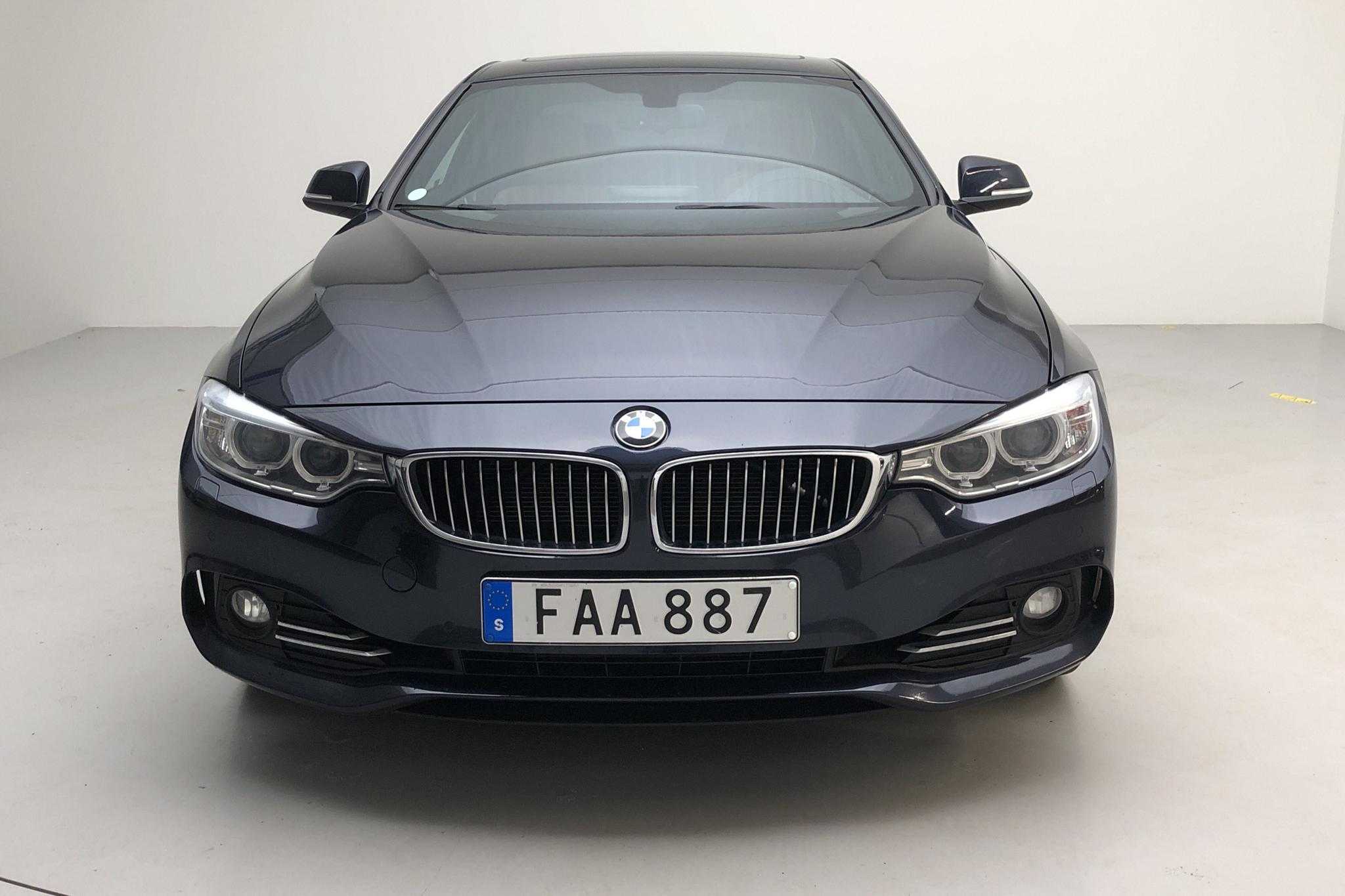 BMW 428i Coupé, F32 (245hk) - 156 800 km - Manual - blue - 2015