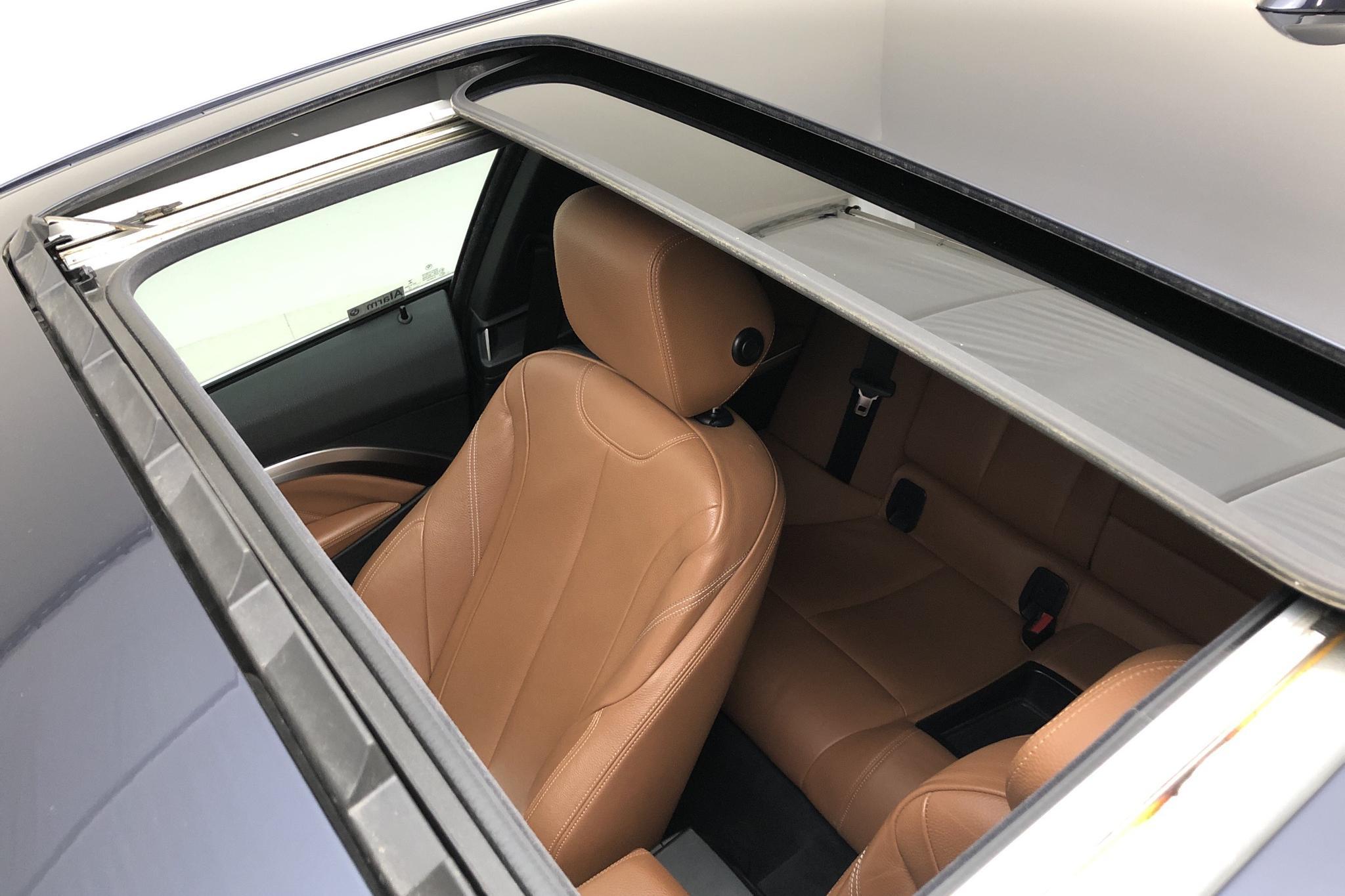 BMW 428i Coupé, F32 (245hk) - 15 680 mil - Manuell - blå - 2015