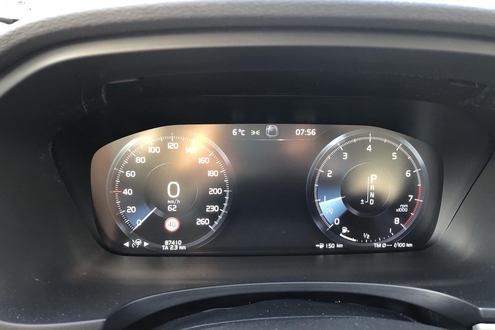 Volvo V90 T5 Bi-Fuel (254hk) - 87 410 km - Automatic - gray - 2018