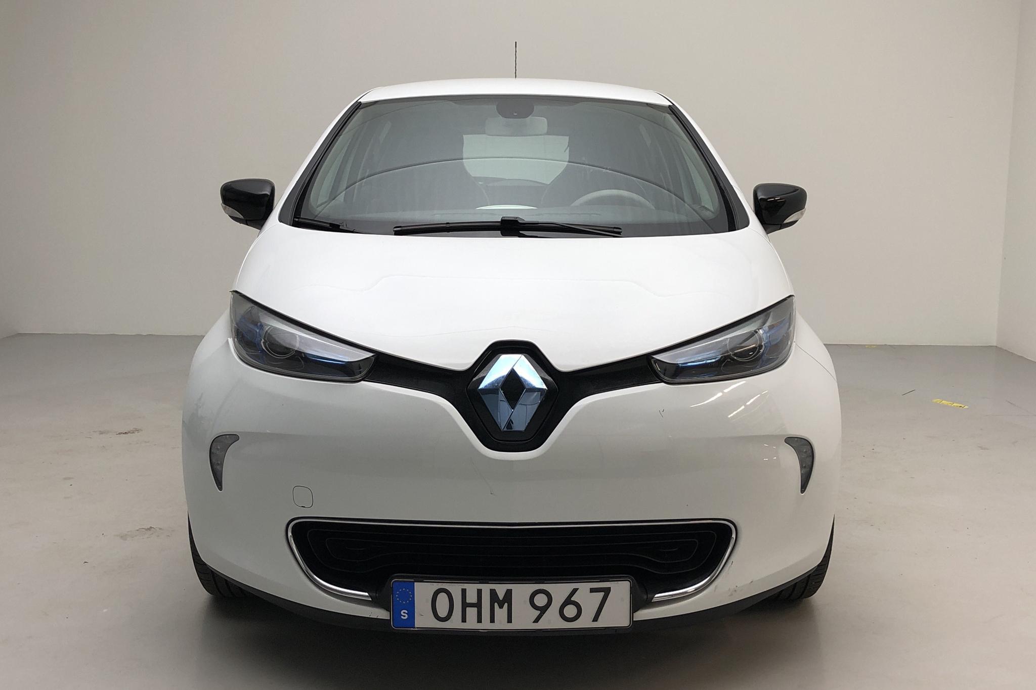 Renault Zoe 22 kWh (88hk) - 98 720 km - Automatic - white - 2017