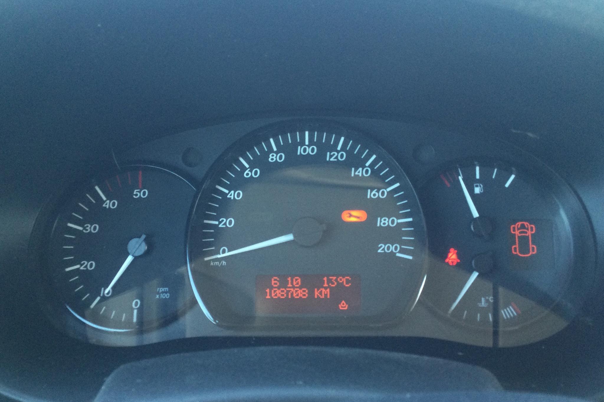 Mercedes Citan 109 1.5 CDI (90hk) - 108 730 km - Manual - red - 2015