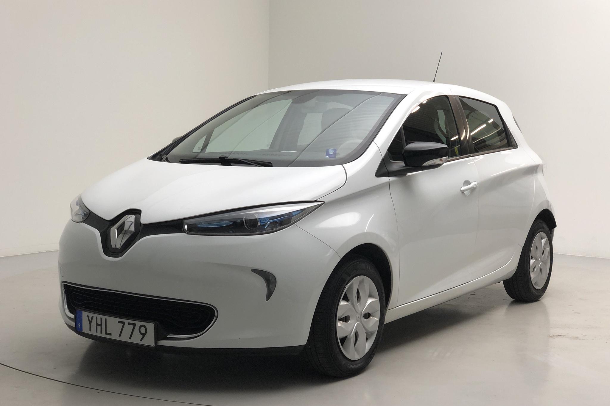 Renault Zoe 22 kWh (88hk) - 85 270 km - Automatic - white - 2017