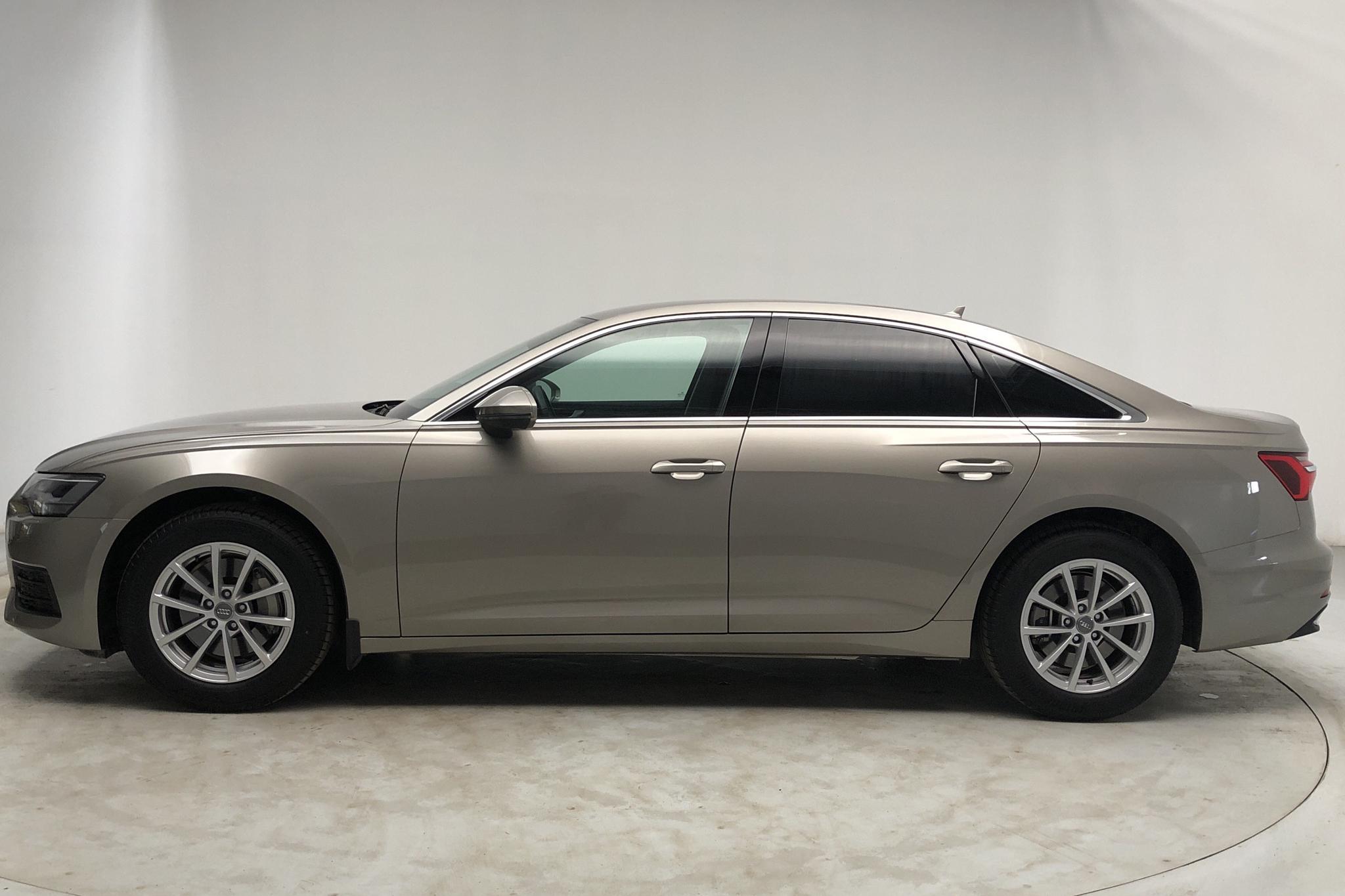 Audi A6 Sedan 45 TFSI quattro (245hk) - 12 450 km - Automatic - Light Brown - 2020