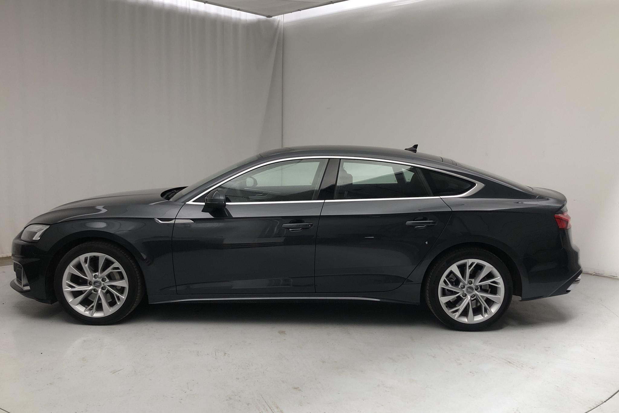 Audi A5 Sportback 45 TFSI quattro LCI (265hk) - 353 mil - Automat - grå - 2021