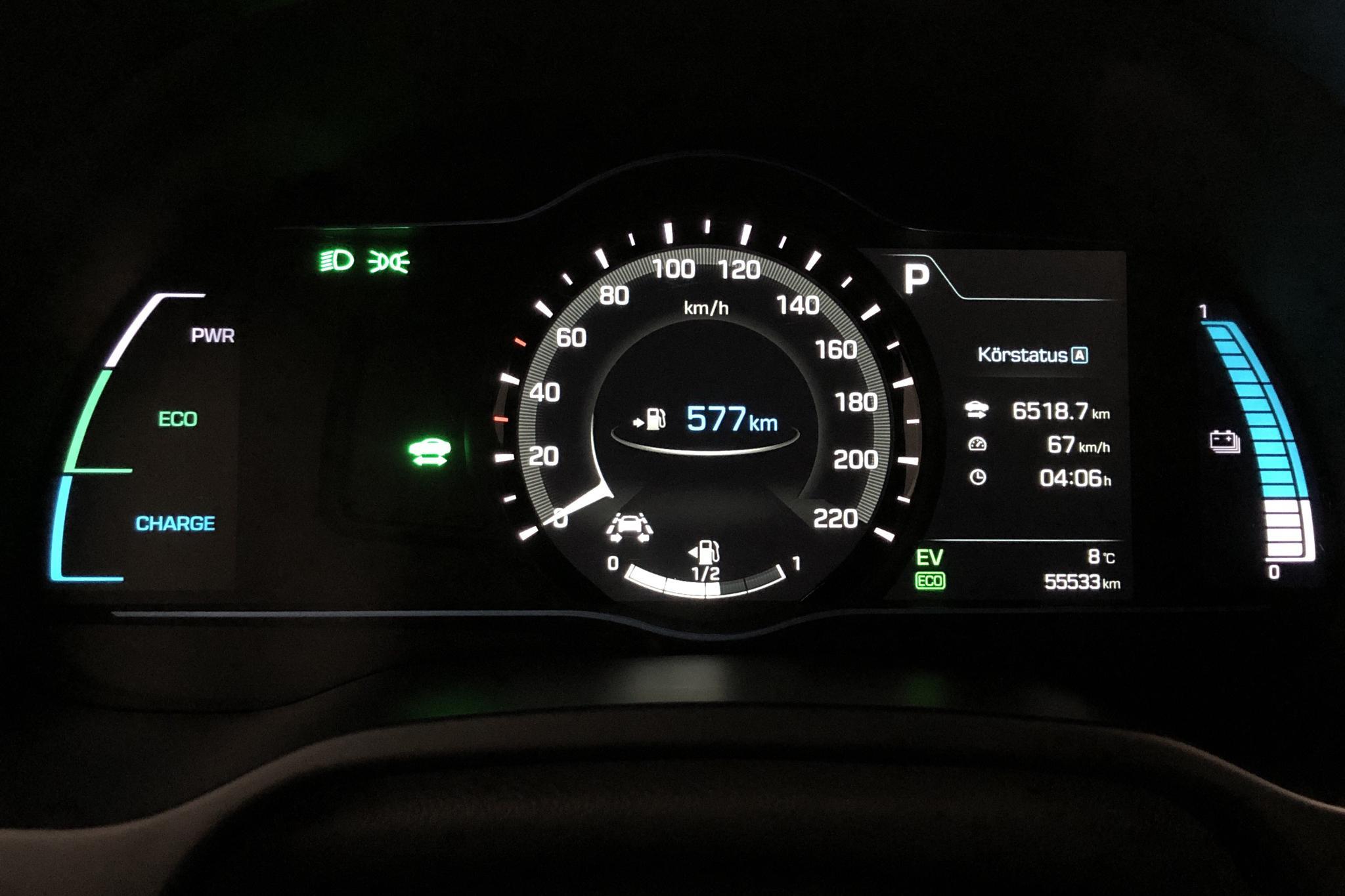 Hyundai IONIQ Plug-in (141hk) - 55 530 km - Automatic - silver - 2017