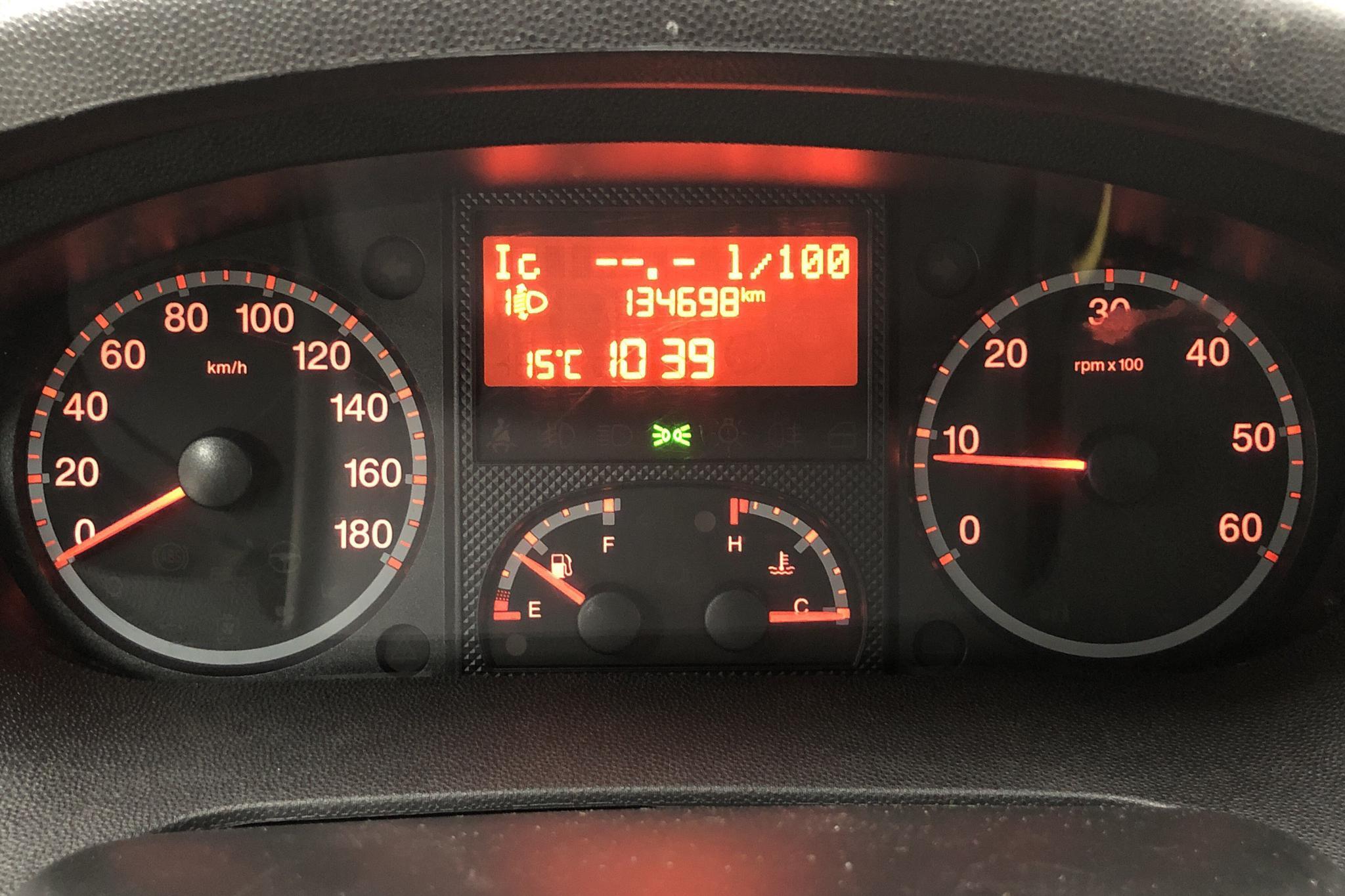 Fiat Ducato 2.3 Multijet Skåp (148hk) - 13 470 mil - Manuell - vit - 2014