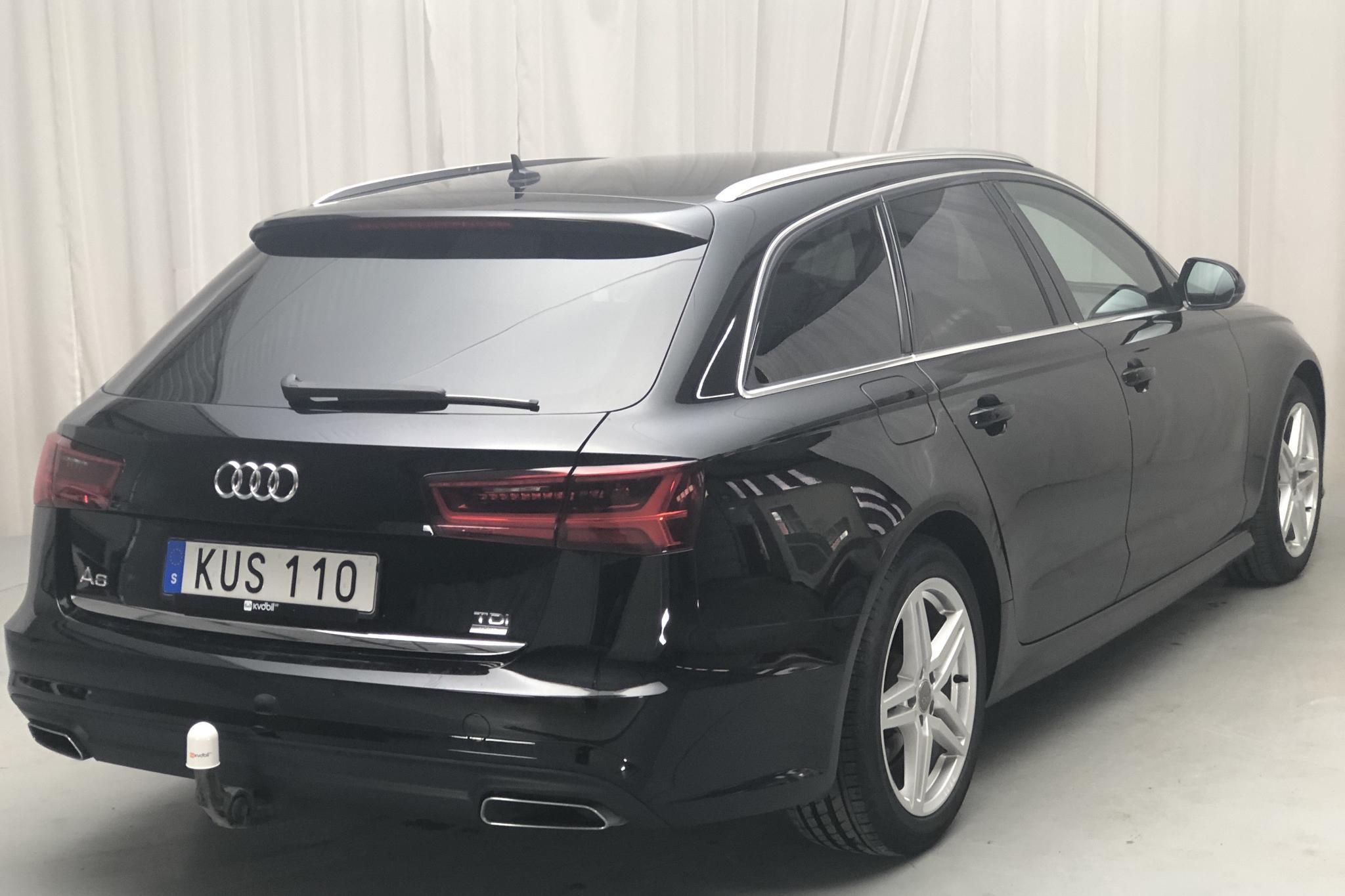 Audi A6 2.0 TDI Avant (190hk) - 49 750 km - Automatic - black - 2018