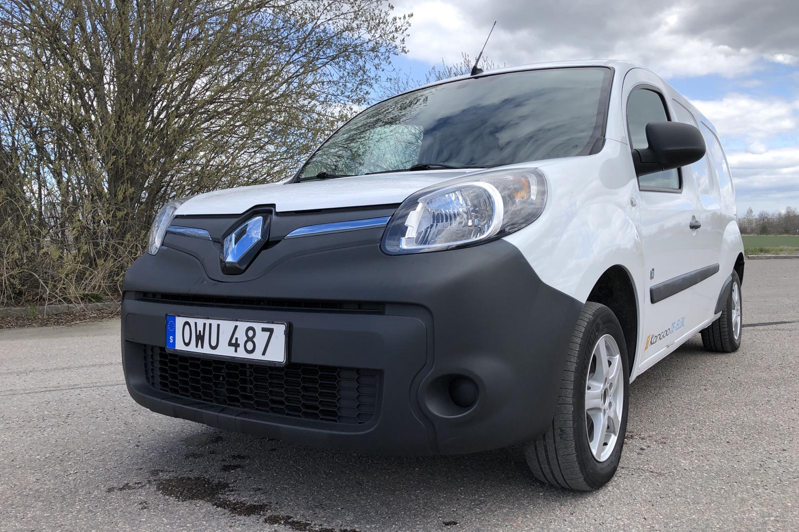 Renault Kangoo II Z.E. 22 kWh Maxi Skåp (60hk) - 43 540 km - Automatic - white - 2015