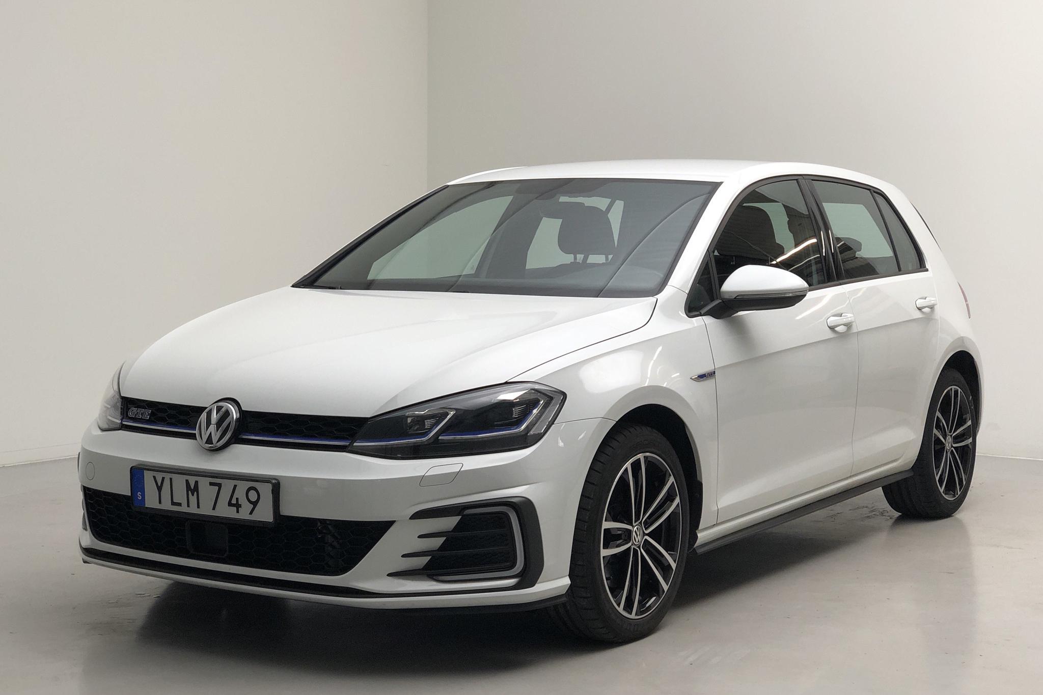 VW Golf VII GTE 5dr (204hk) - 39 430 km - Automatic - white - 2017