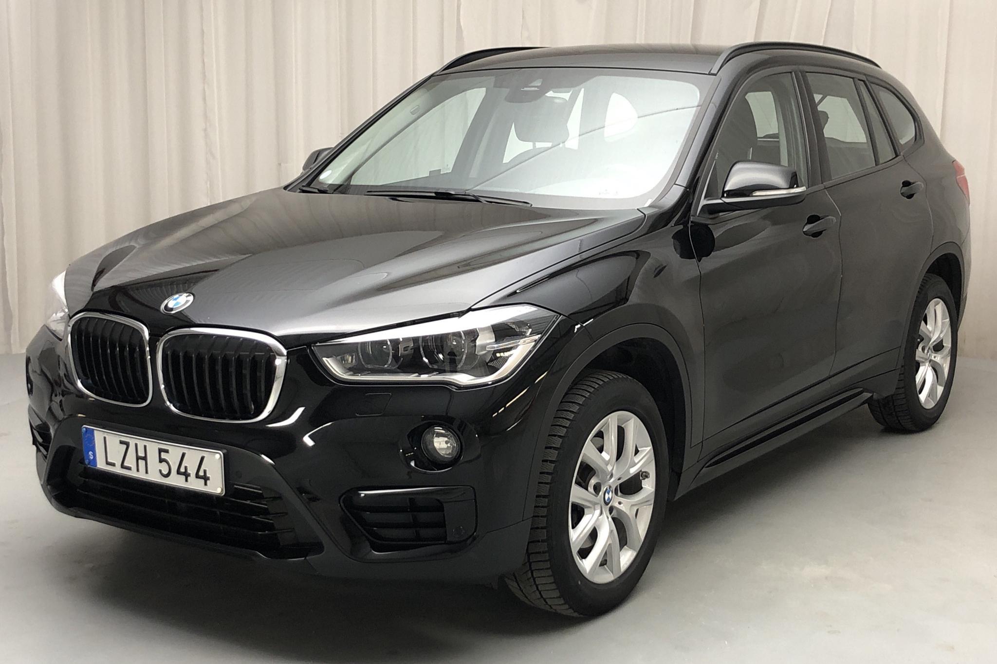 BMW X1 xDrive18d, F48 (150hk) - 78 790 km - Automatic - black - 2018