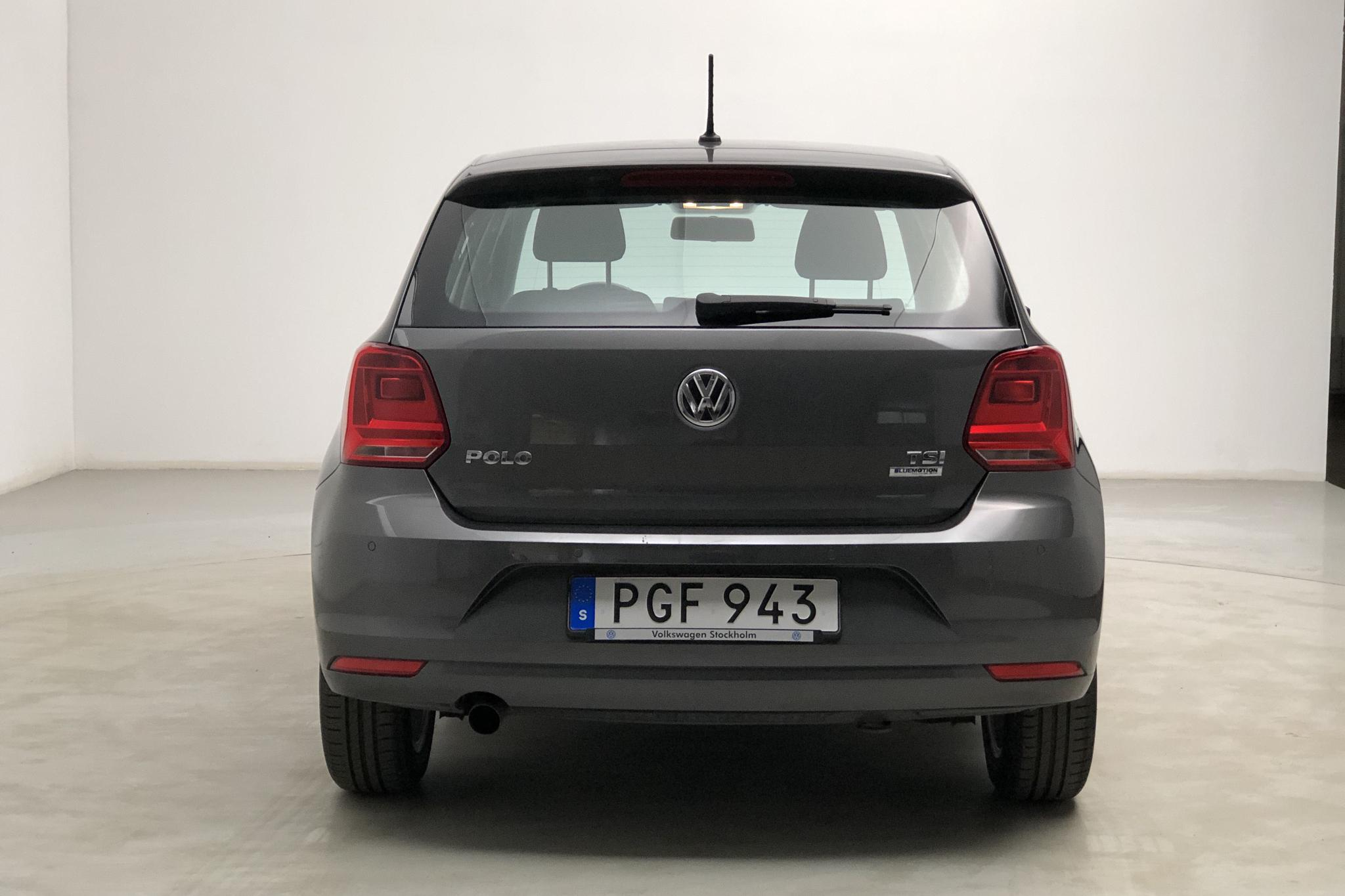 VW Polo 1.2 TSI 5dr (90hk) - 43 740 km - Manual - Dark Grey - 2017