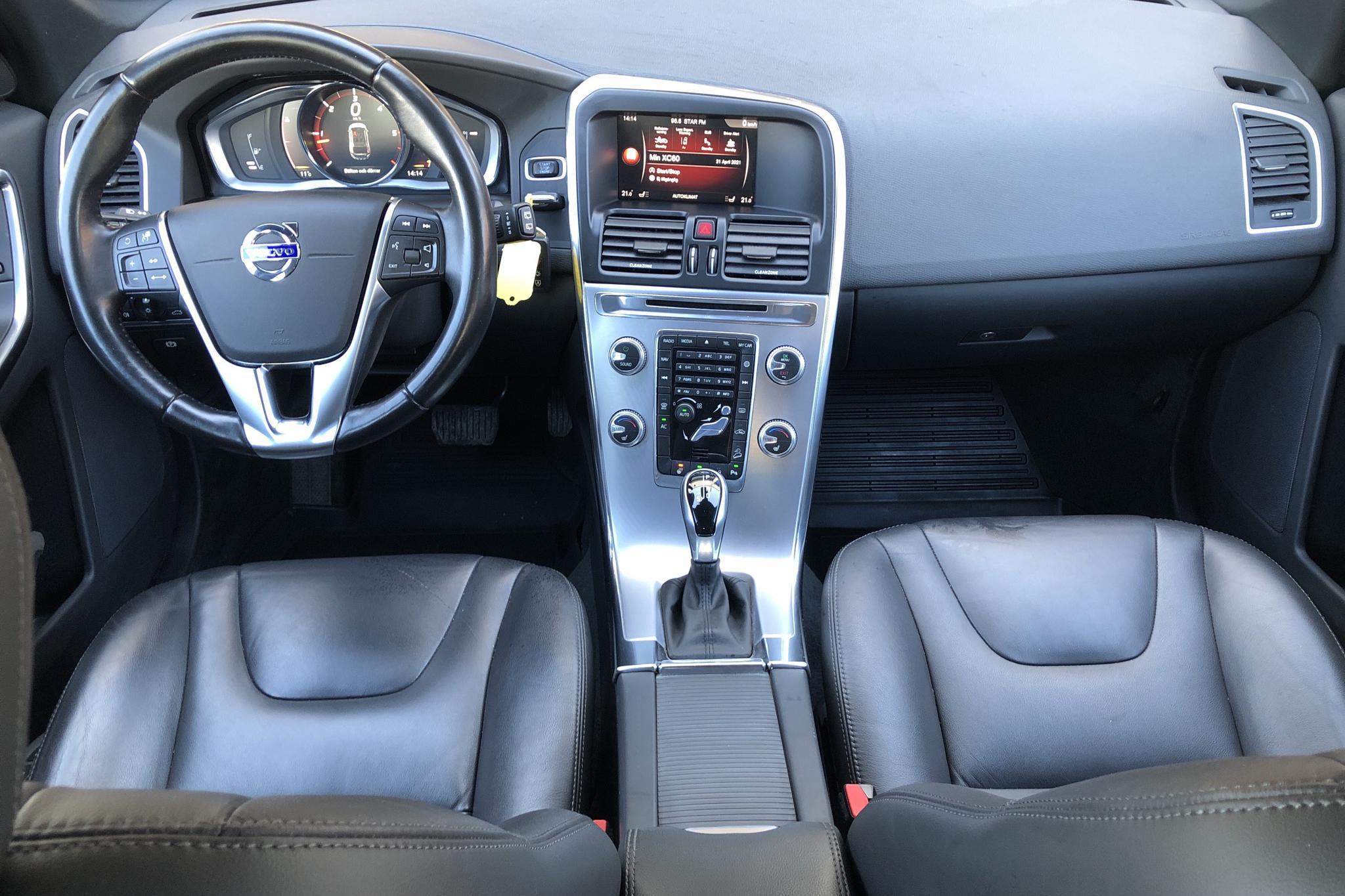 Volvo XC60 D4 AWD (190hk) - 99 290 km - Automatic - black - 2017