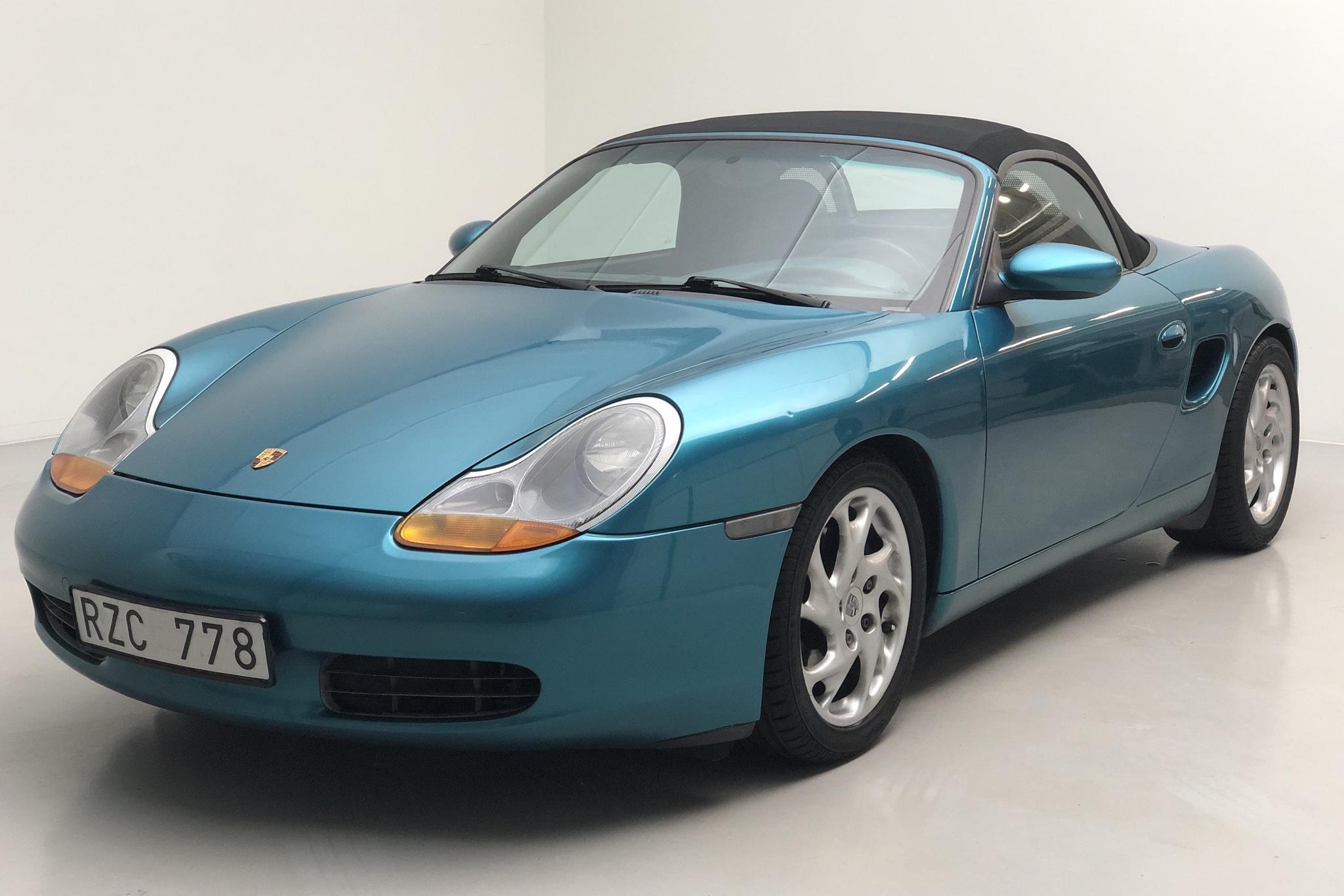 Porsche Boxster 2.5 (204hk) - 9 066 mil - Manuell - grön - 1997