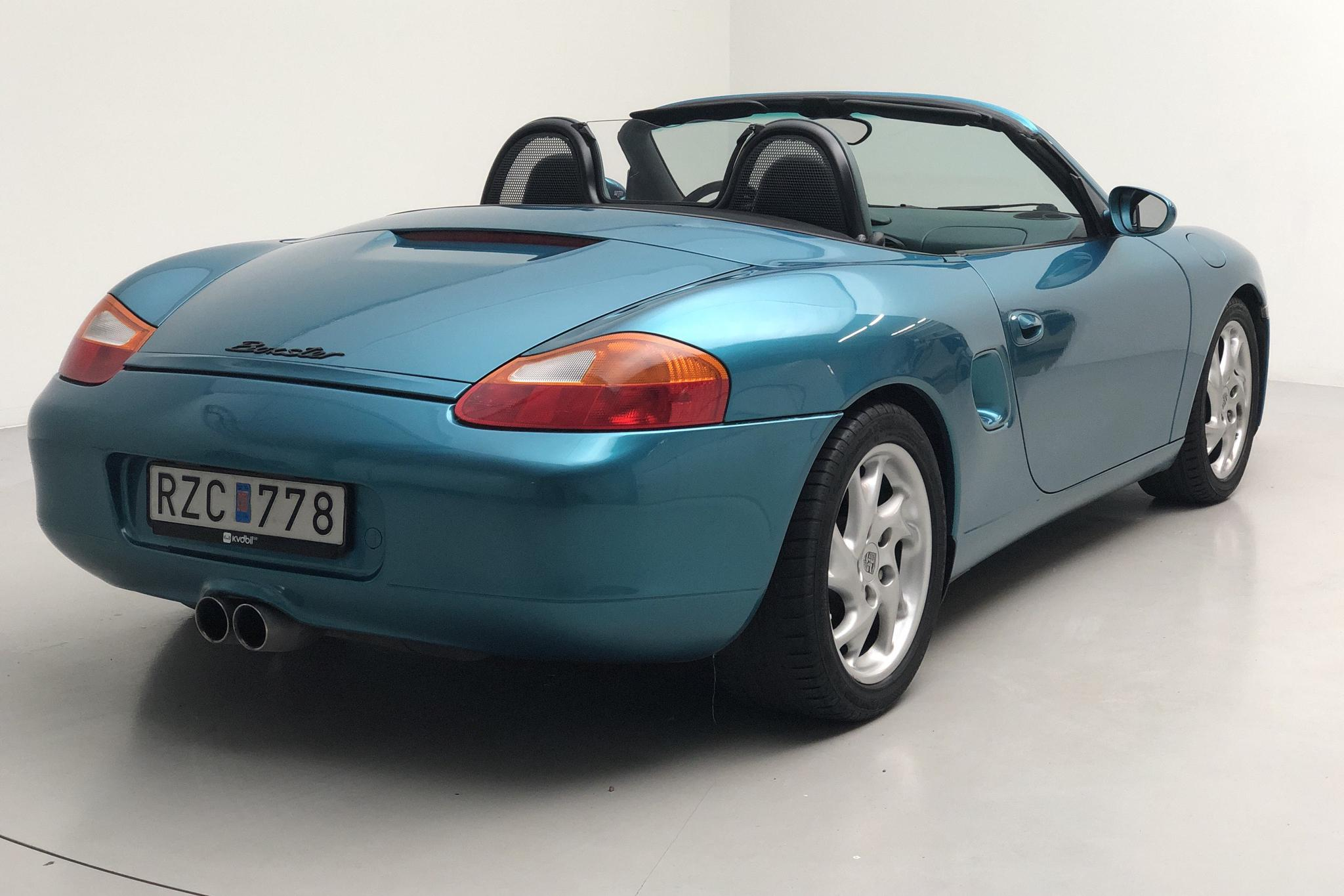 Porsche Boxster 2.5 (204hk) - 90 660 km - Manual - green - 1997