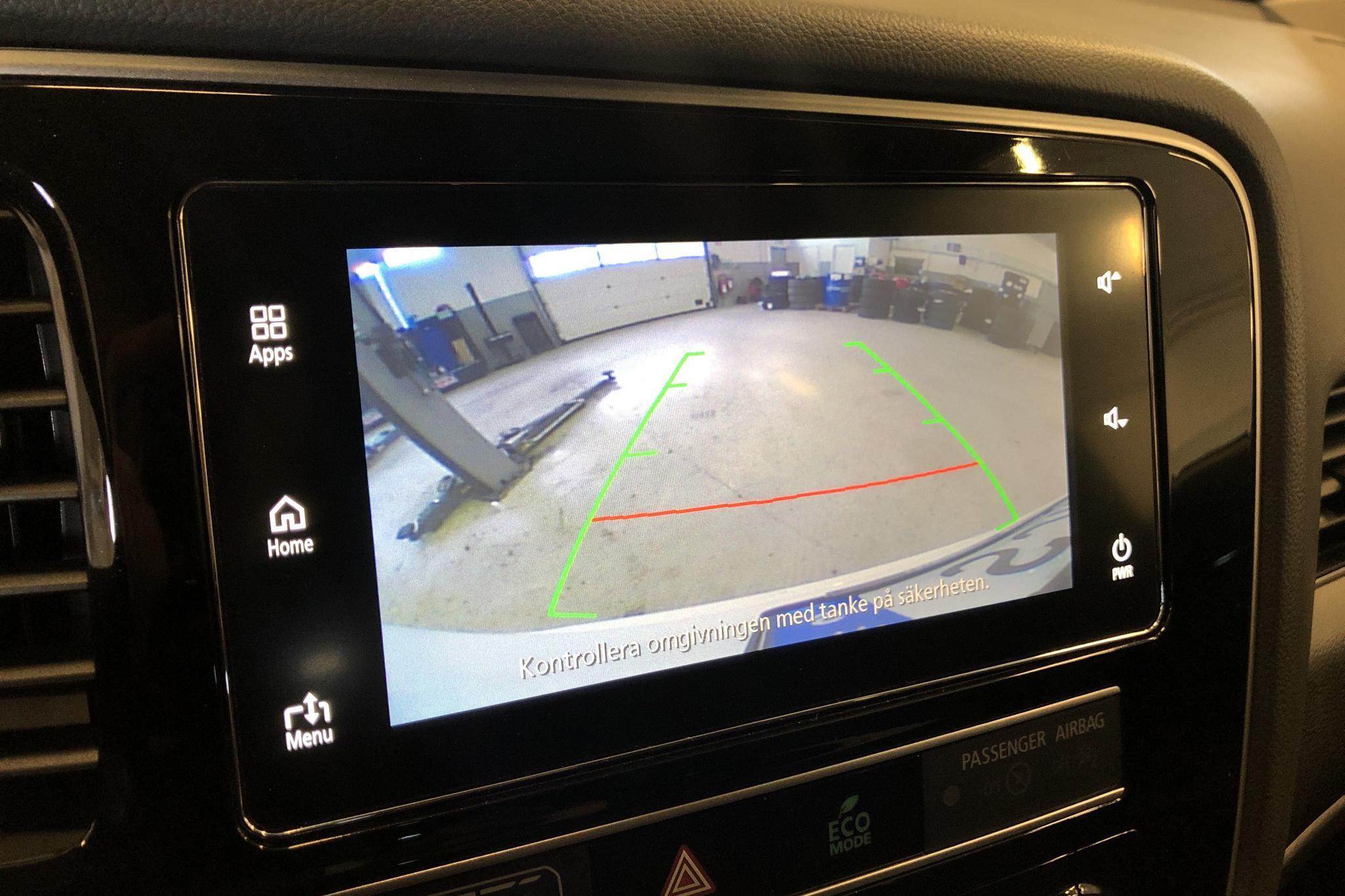 Mitsubishi Outlander 2.4 Plug-in Hybrid 4WD (136hk) - 8 010 mil - Automat - vit - 2019